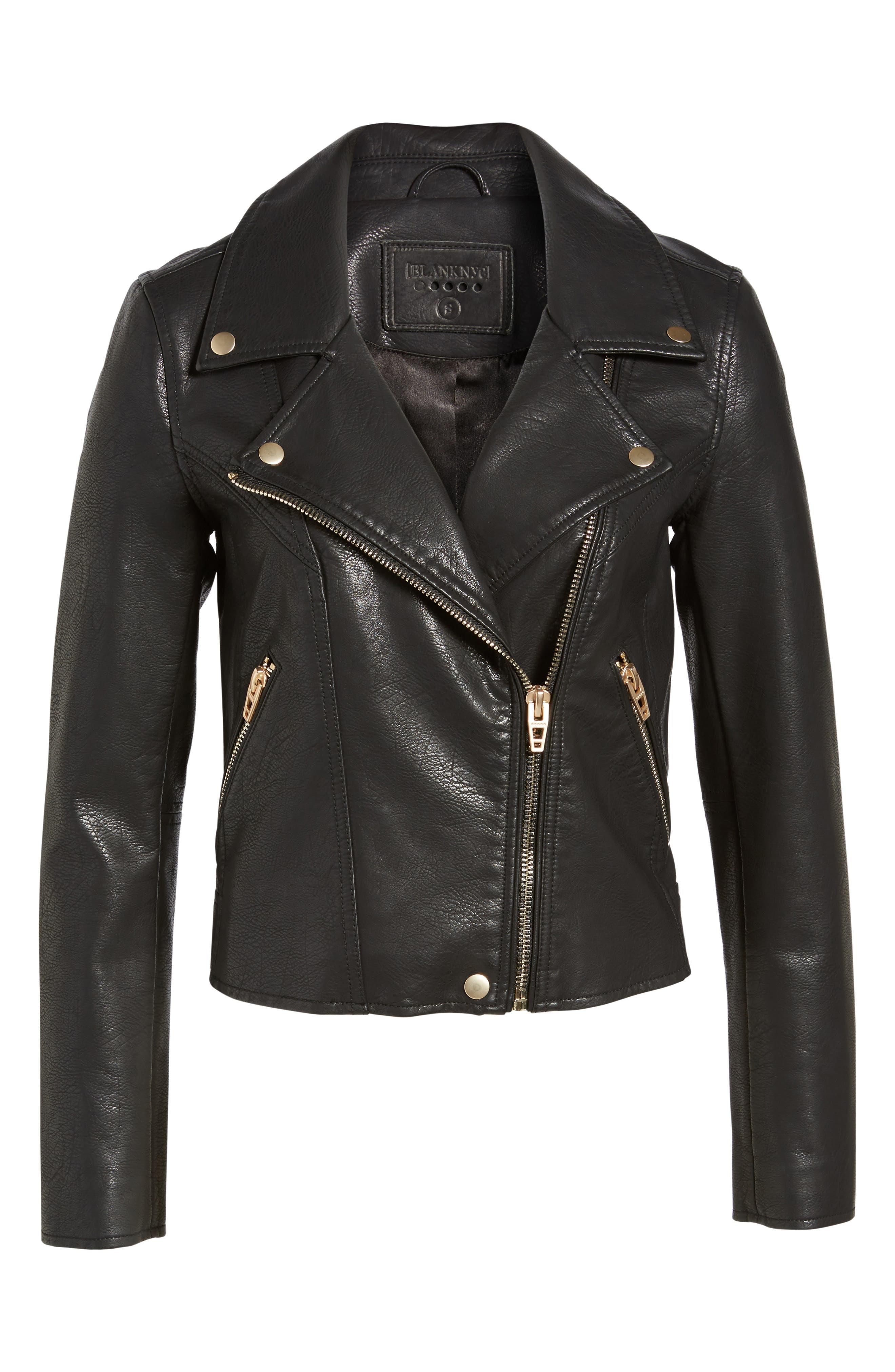 Alternate Image 7  - BLANKNYC Life Changer Moto Jacket