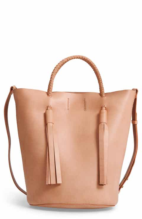 Madewell Austin Leather Bucket Bag