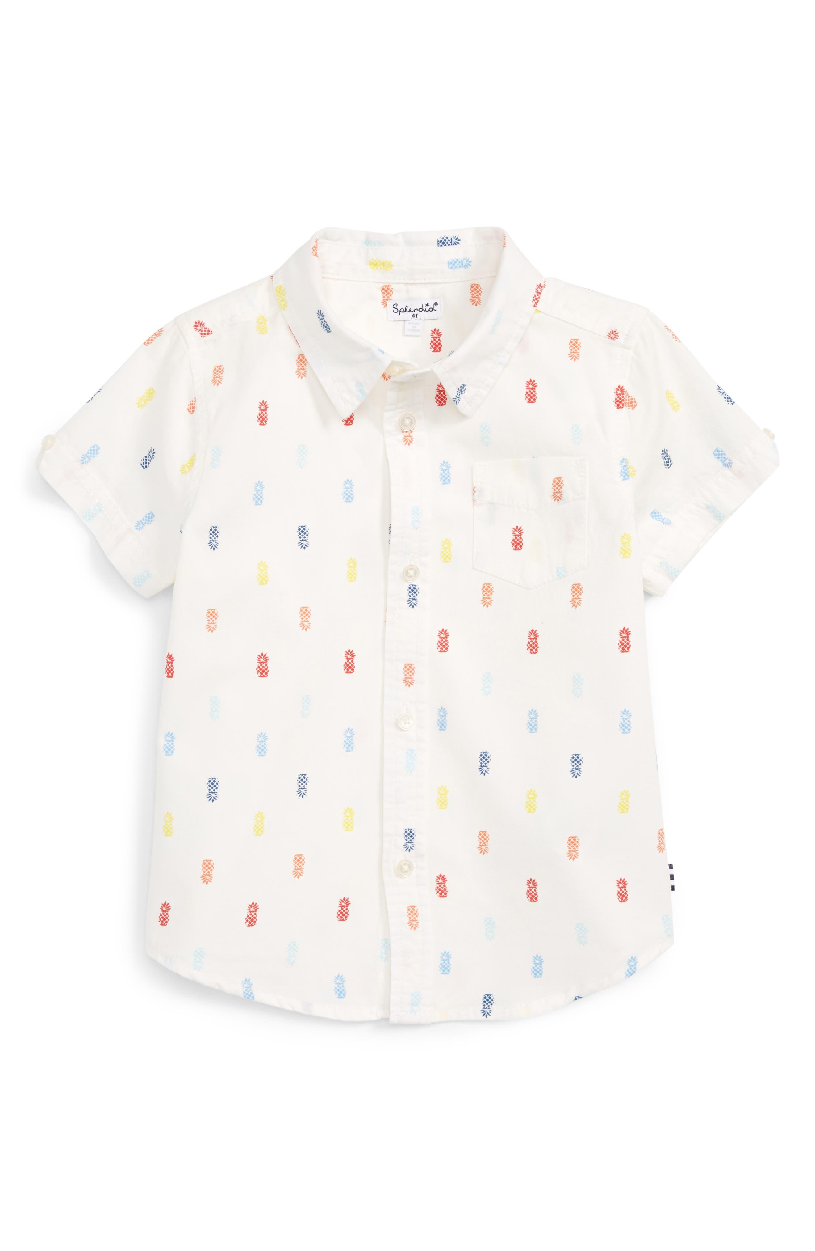 Splendid Woven Shirt (Toddler Boys & Little Boys)