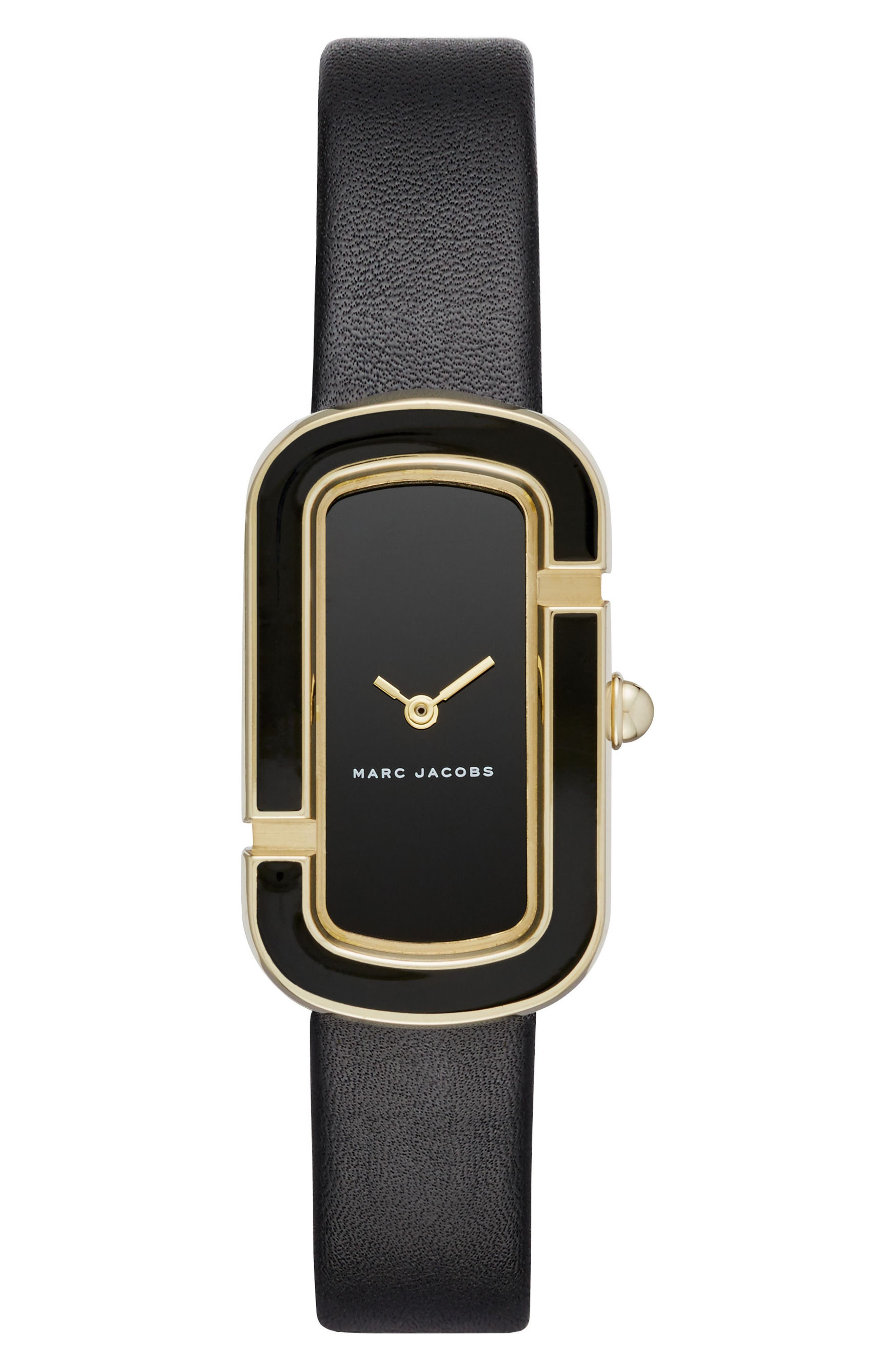 MARC JACOBS The Jacobs Leather Strap Watch, 39mm