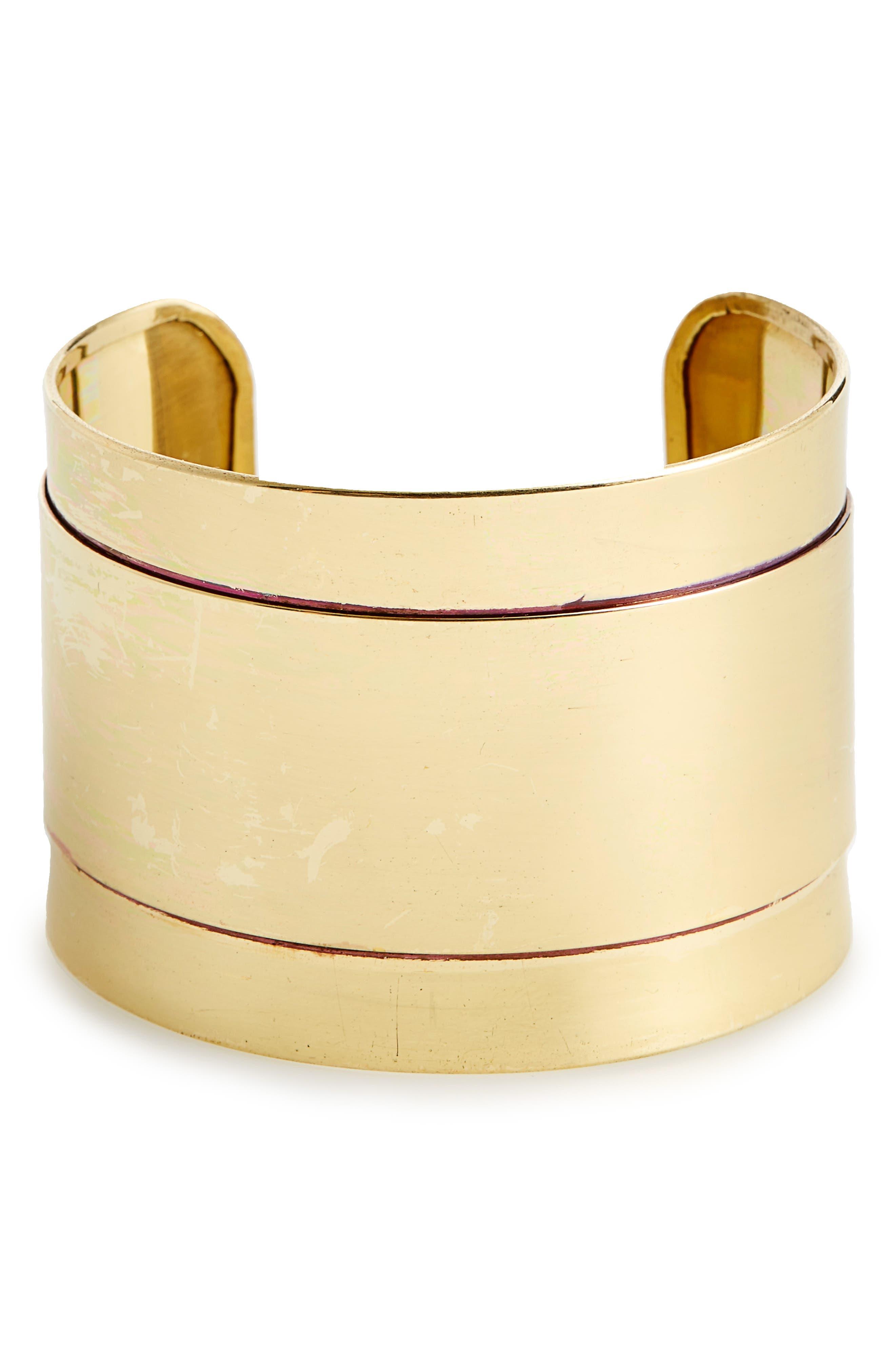 BP. Goldtone Bracelet