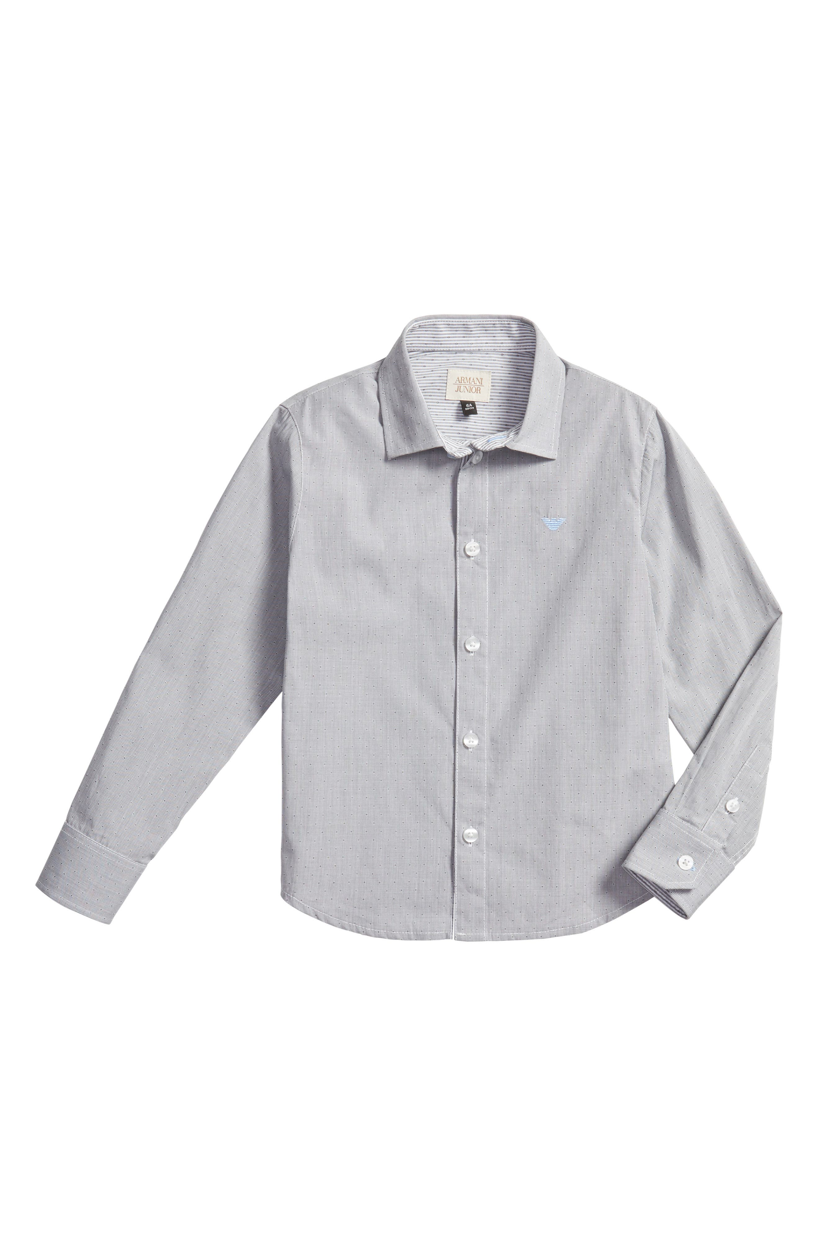 Armani Junior Stripe Dress Shirt (Little Boys & Big Boys)