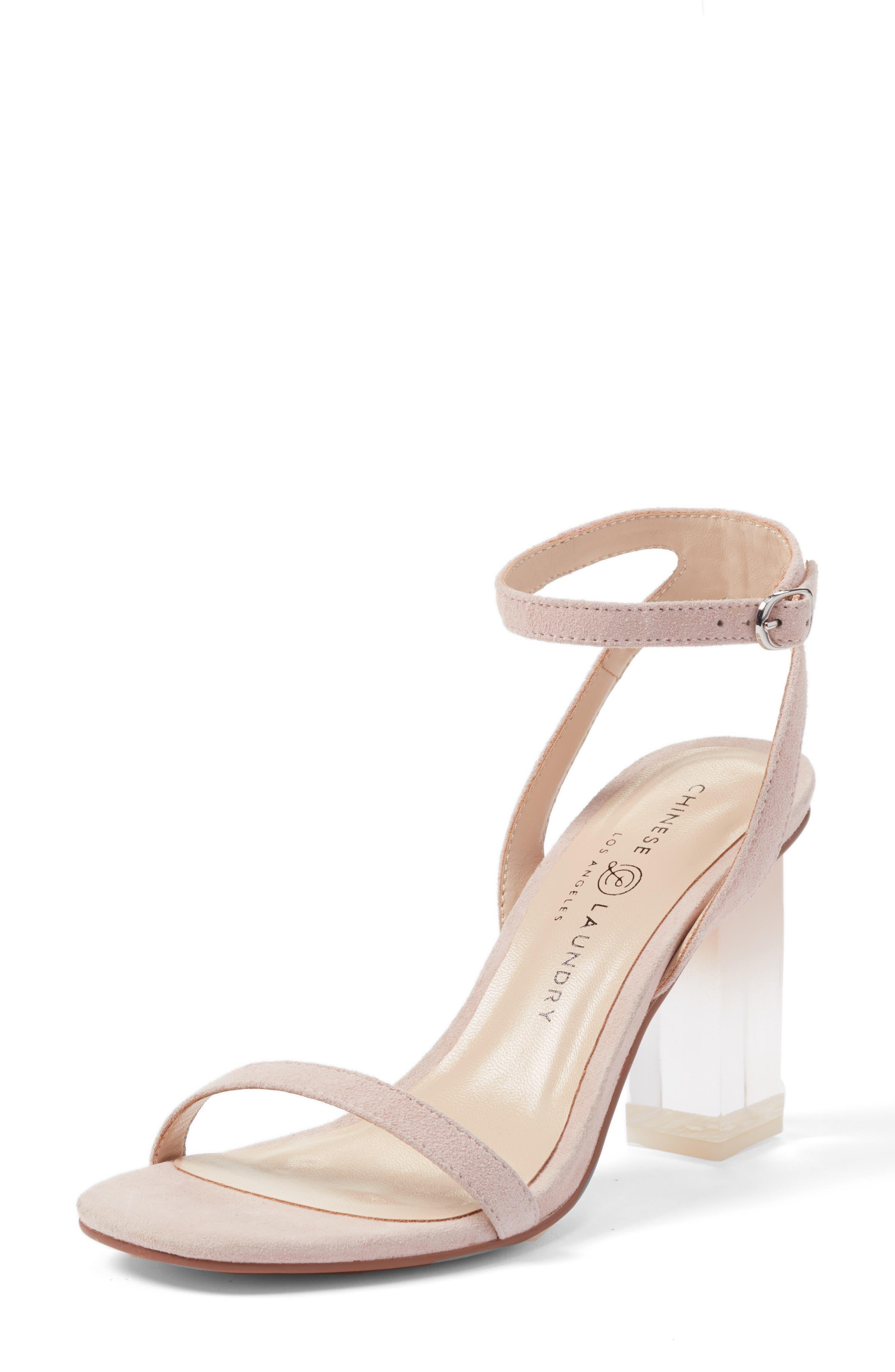Chinese Laundry Shanie Clear Heel Sandal (Women)