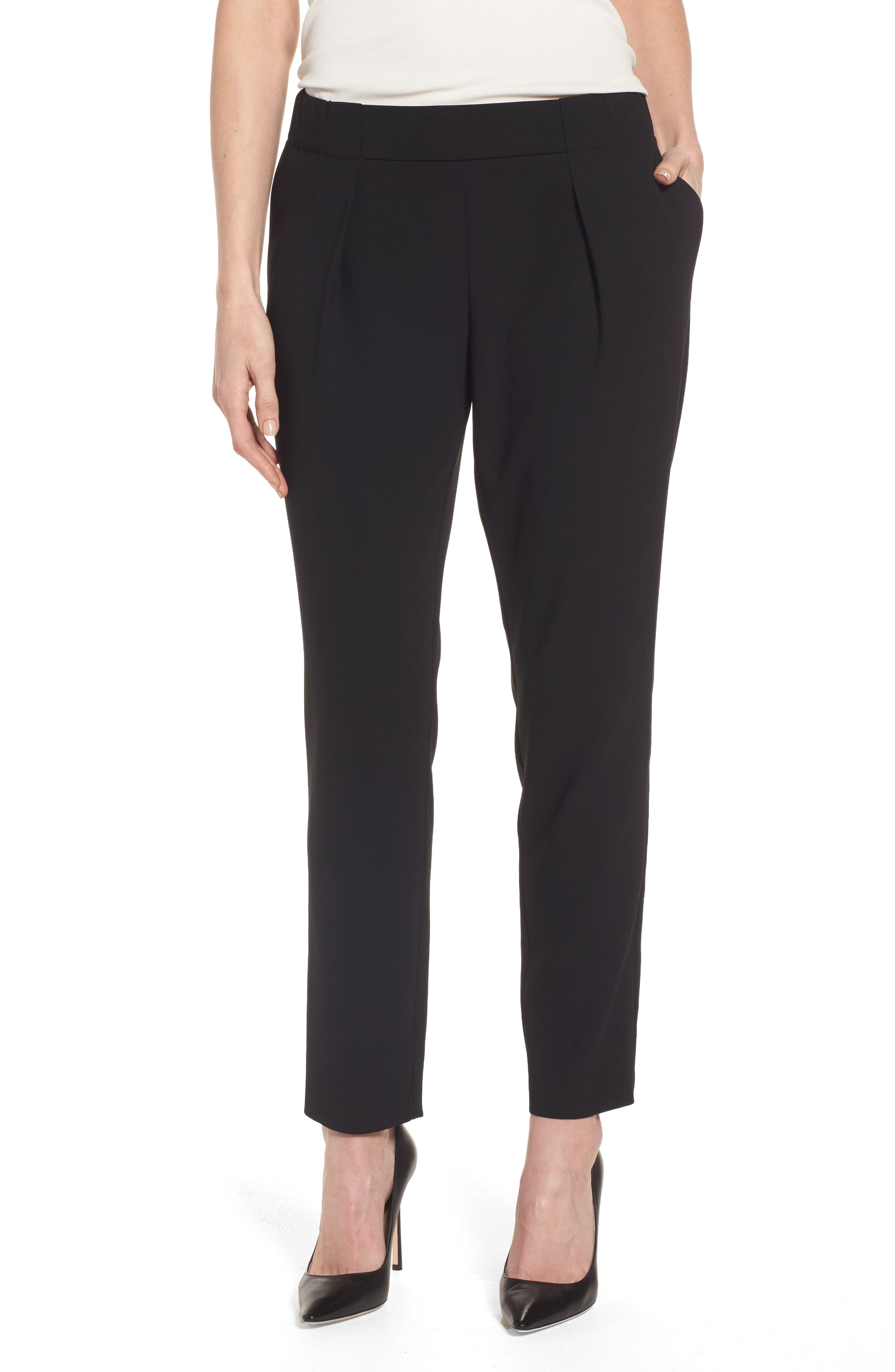 BOSS Akordia Relaxed Crepe Trousers