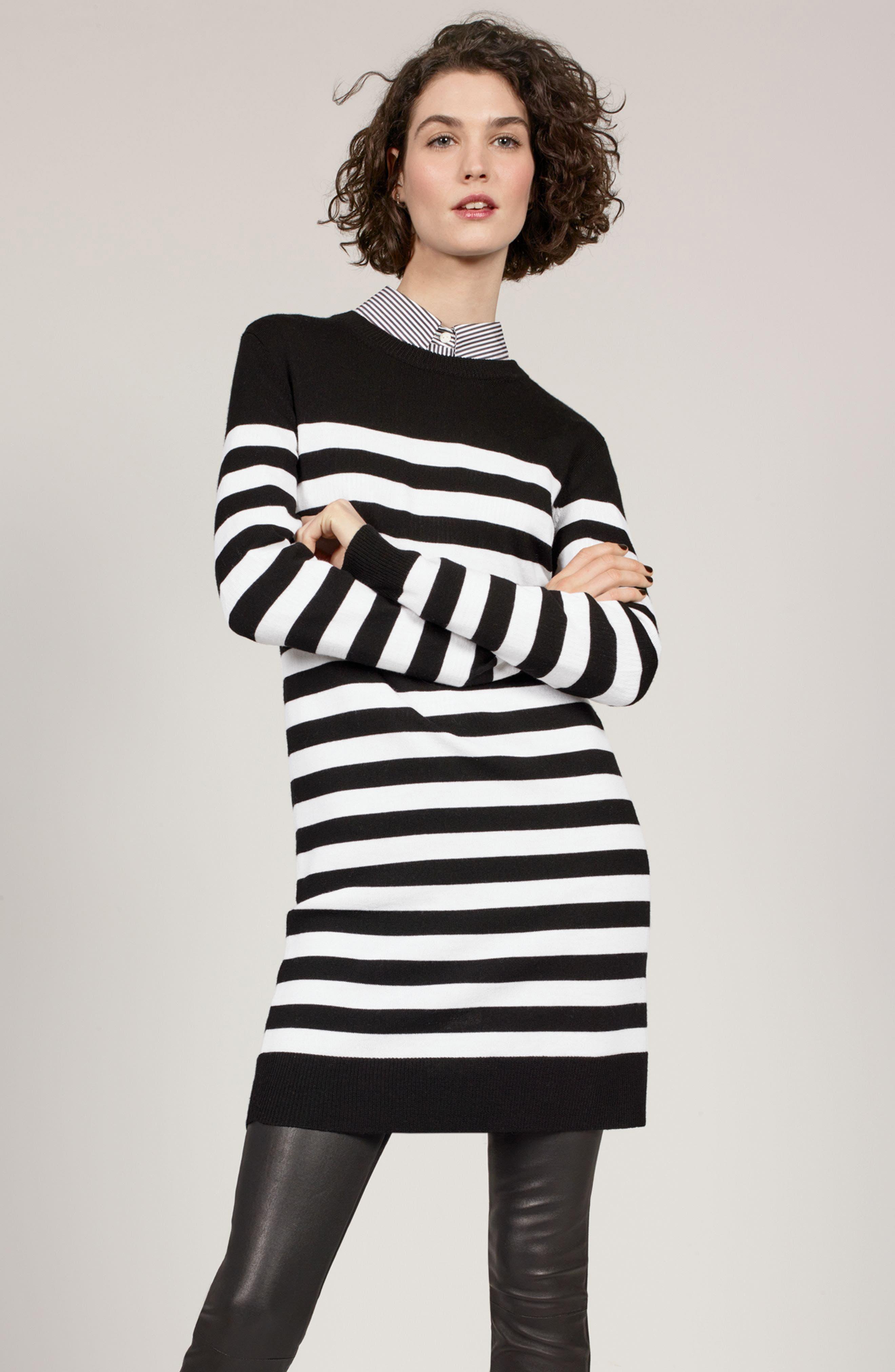 Alternate Image 2  - rag & bone Lilian Stripe Merino Wool Dress (Nordstrom Exclusive)
