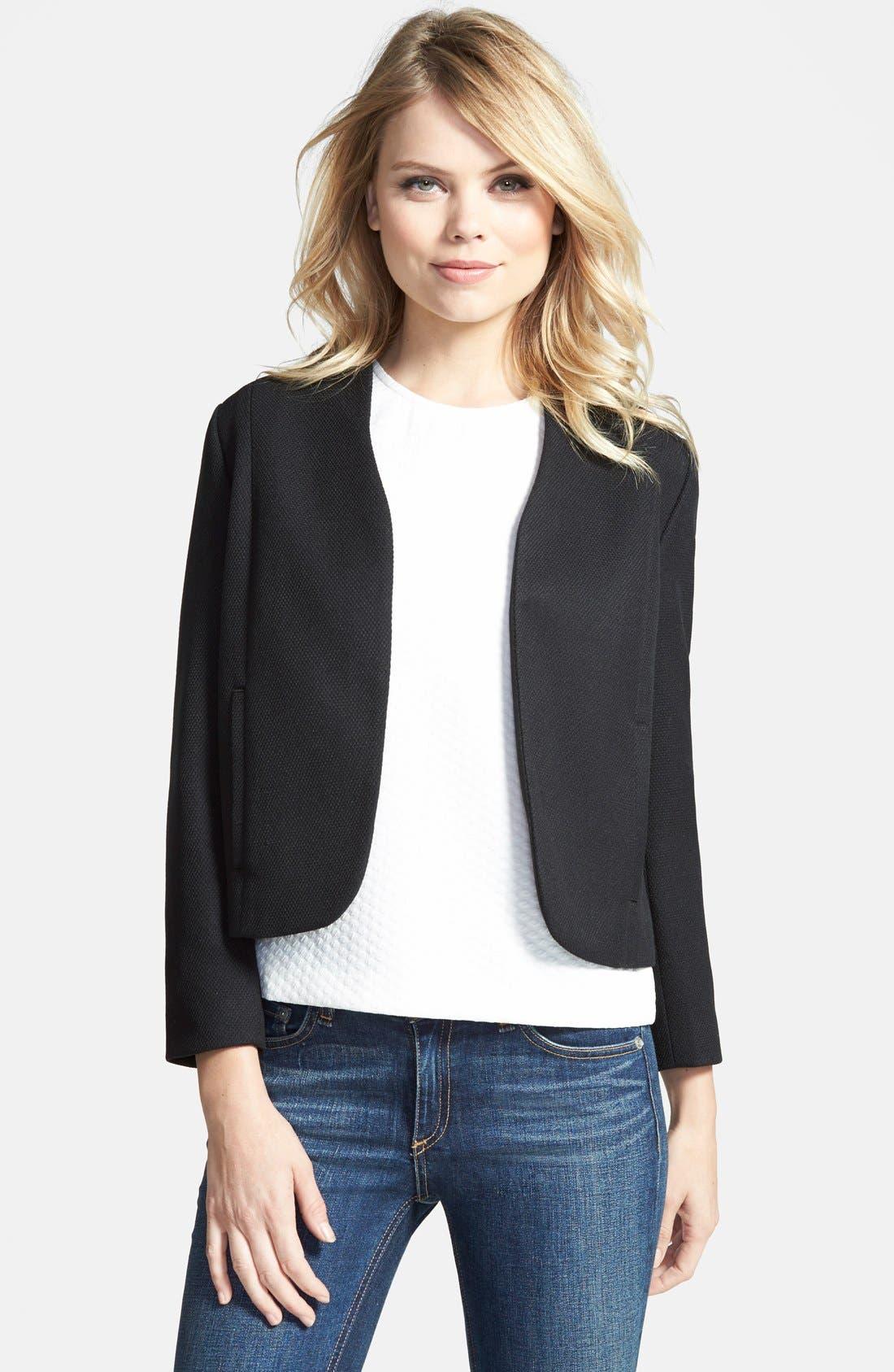 Main Image - Chelsea28 Textured Shell Jacket