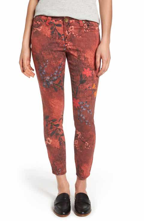 Red Skinny Jeans for Women   Nordstrom