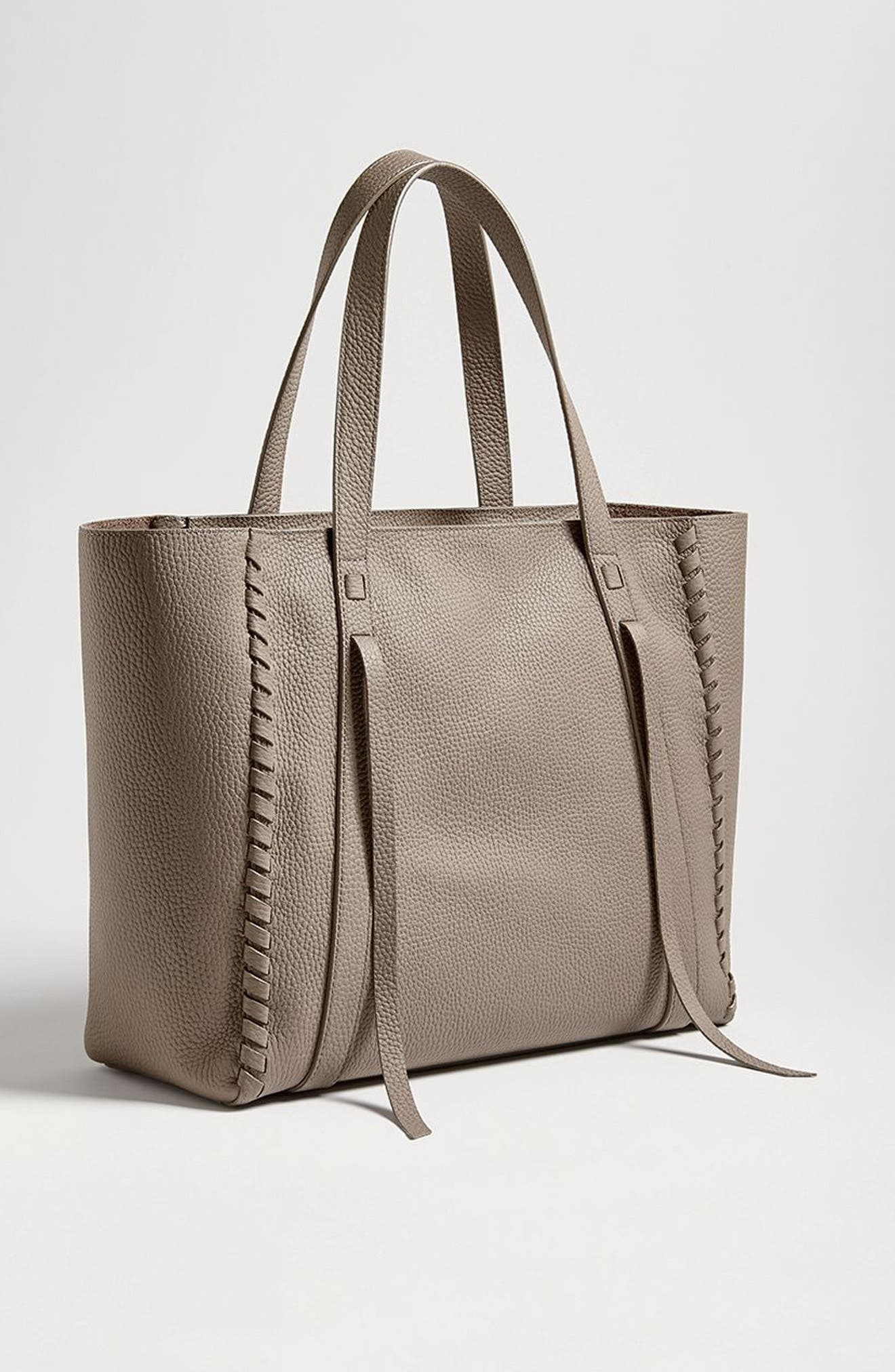 Alternate Image 8  - ALLSAINTS Raye Leather Tote (Nordstrom Exclusive)