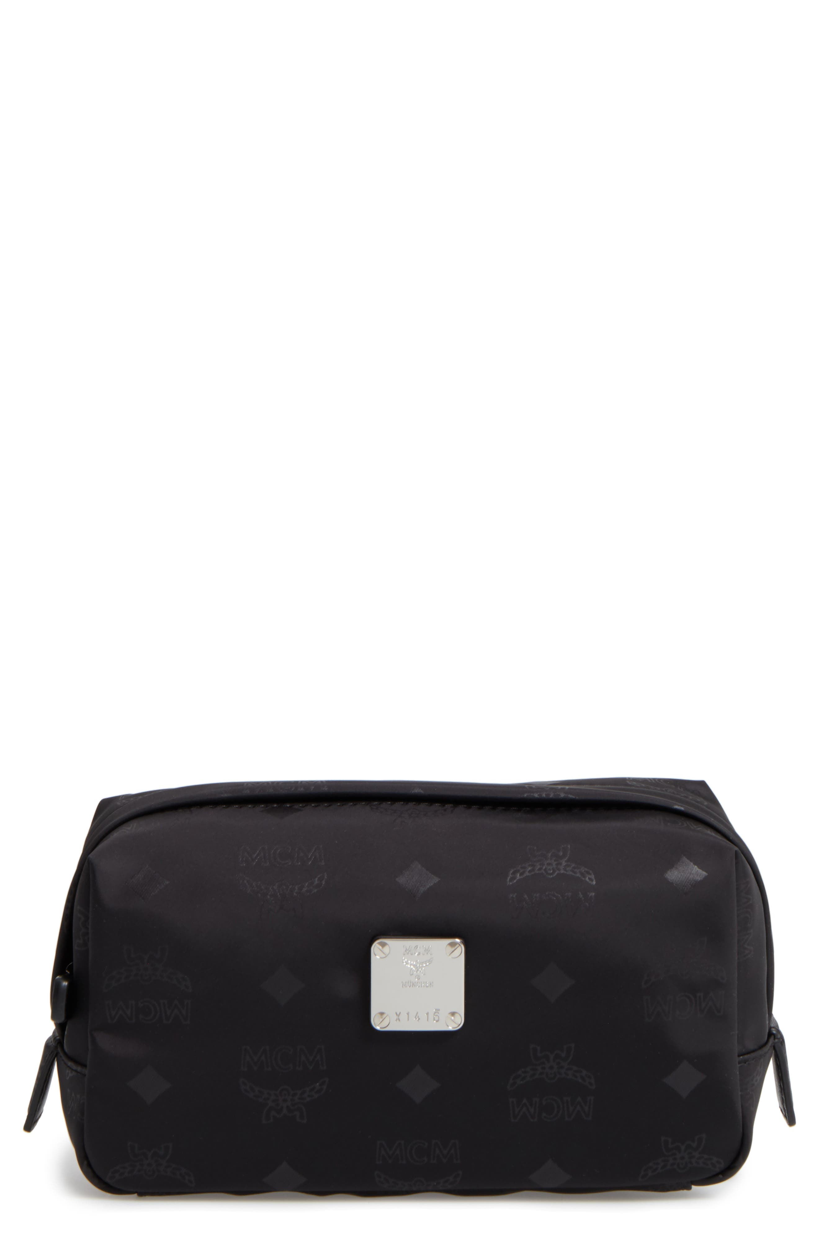 MCM Dieter Water Repellent Nylon Pouch