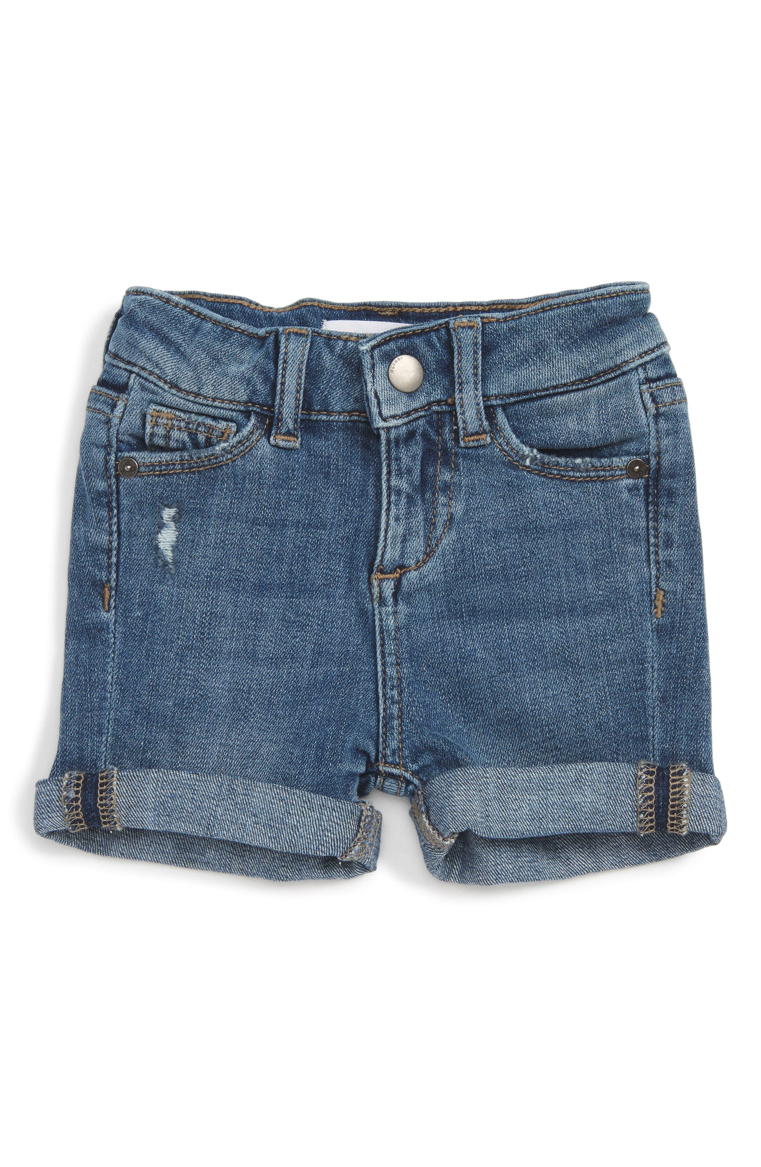 DL1961 Kaley Stretch Denim Shorts (Baby Girls)