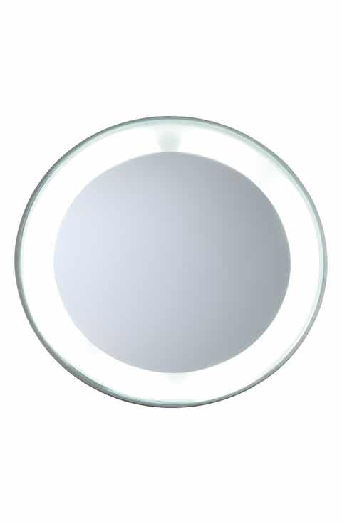 TWEEZERMAN Mini LED 15x Lighted Mirror