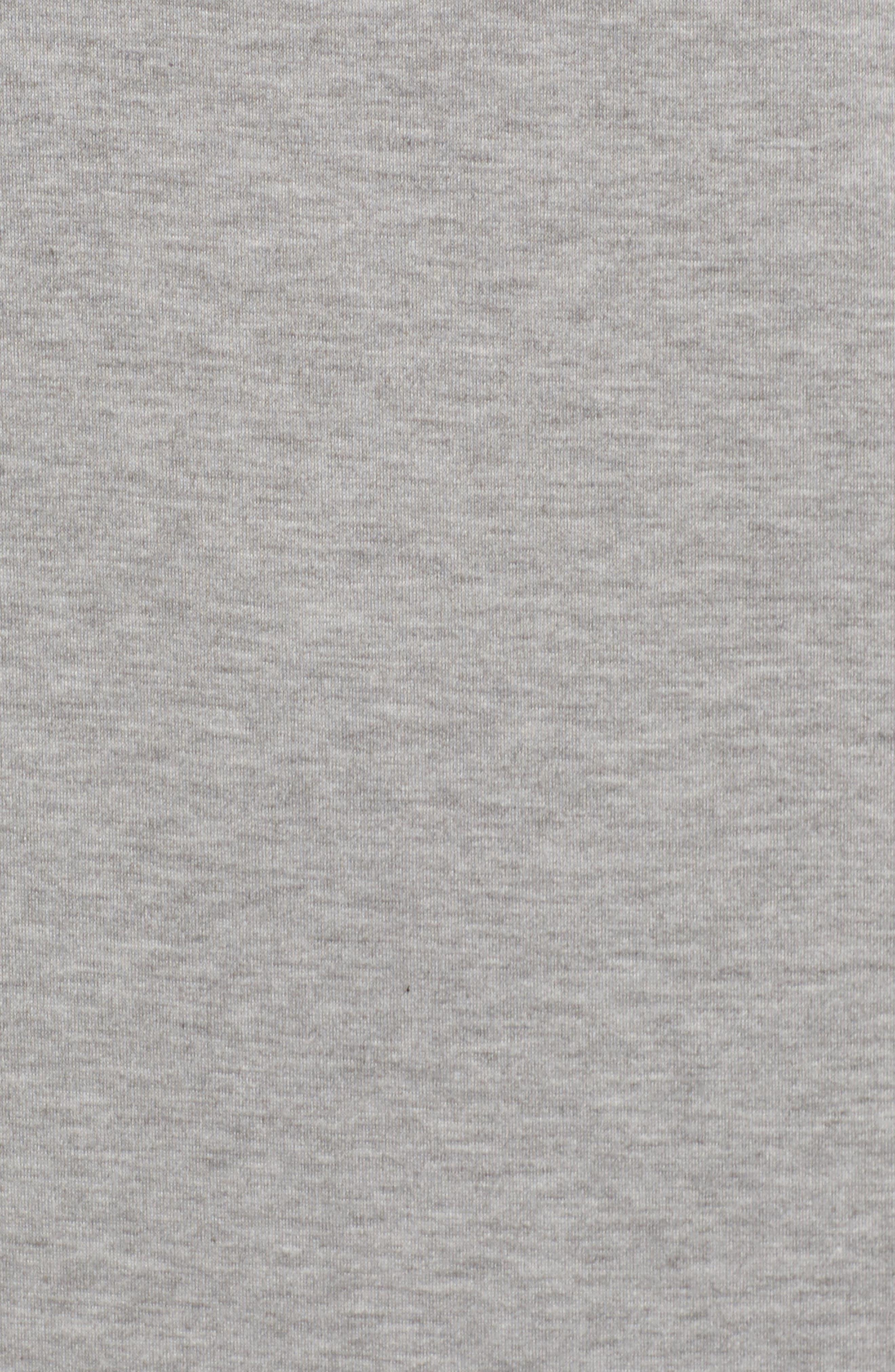 Alternate Image 5  - Bobeau Ruffle Sleeve Tunic Dress (Regular & Petite)