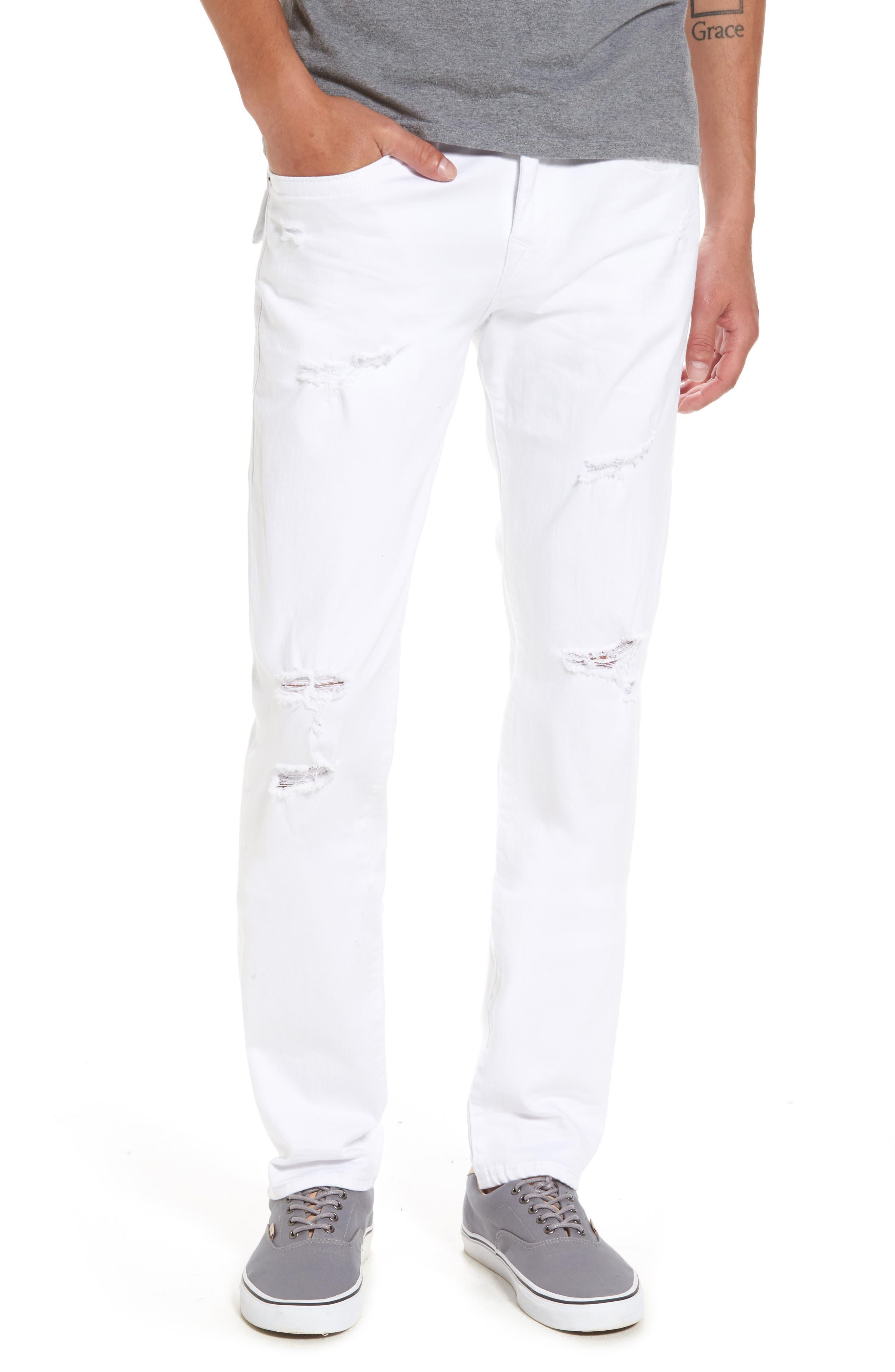 True Religion Brand Jeans Rocco Skinny Fit Jeans (Worn Cruiser)