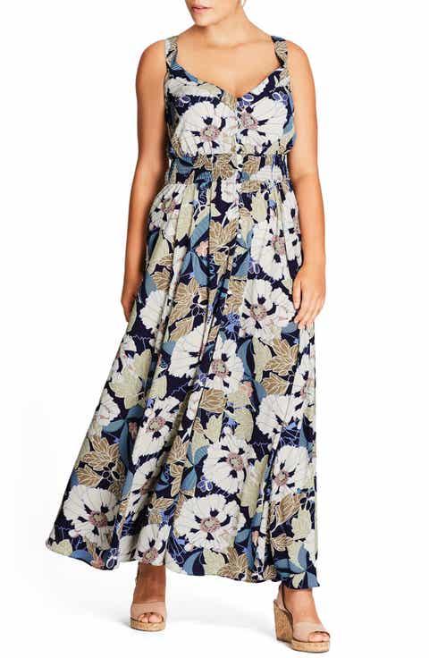 City Chic I Found You Maxi Dress (Plus Size)