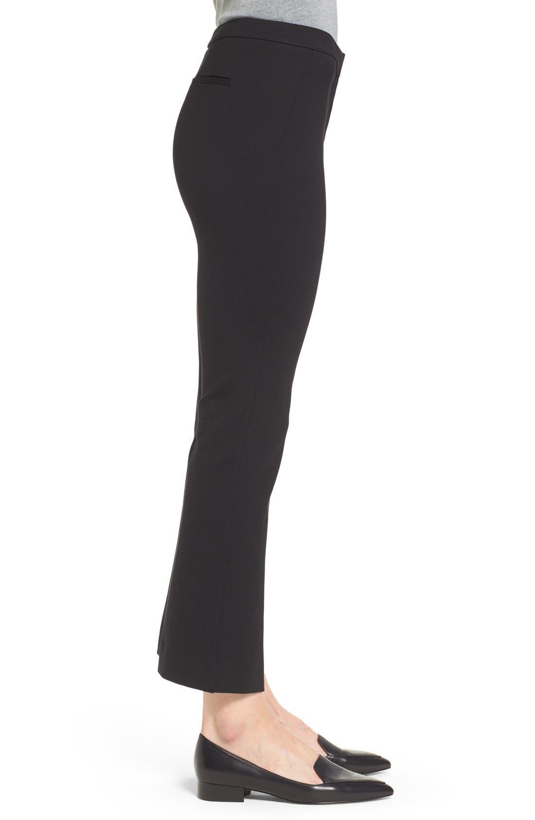 Alternate Image 5  - Halogen® Kick Flare Knit Ankle Pants (Regular & Petite)