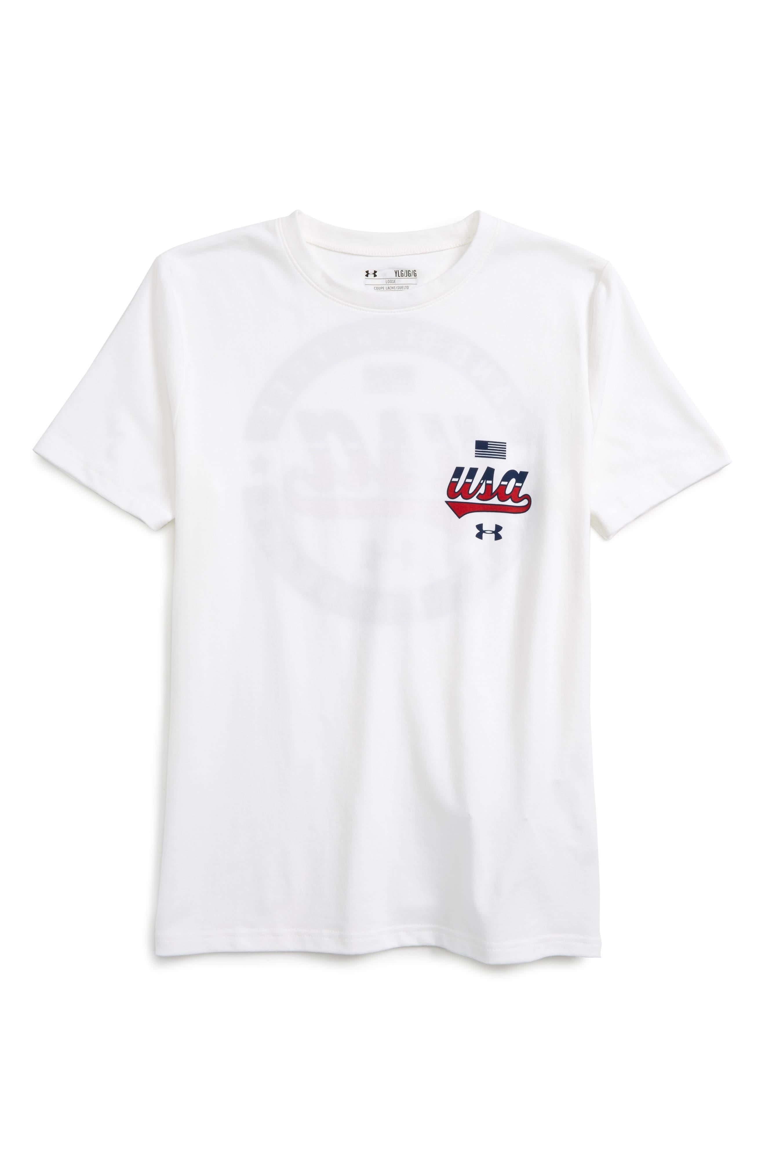 Under Armour Home of the Brave HeatGear® T-Shirt (Little Boys & Big Boys)