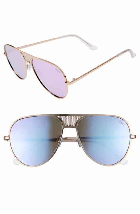 #QUAYxKYLIE Iconic 60mm Aviator Sunglasses