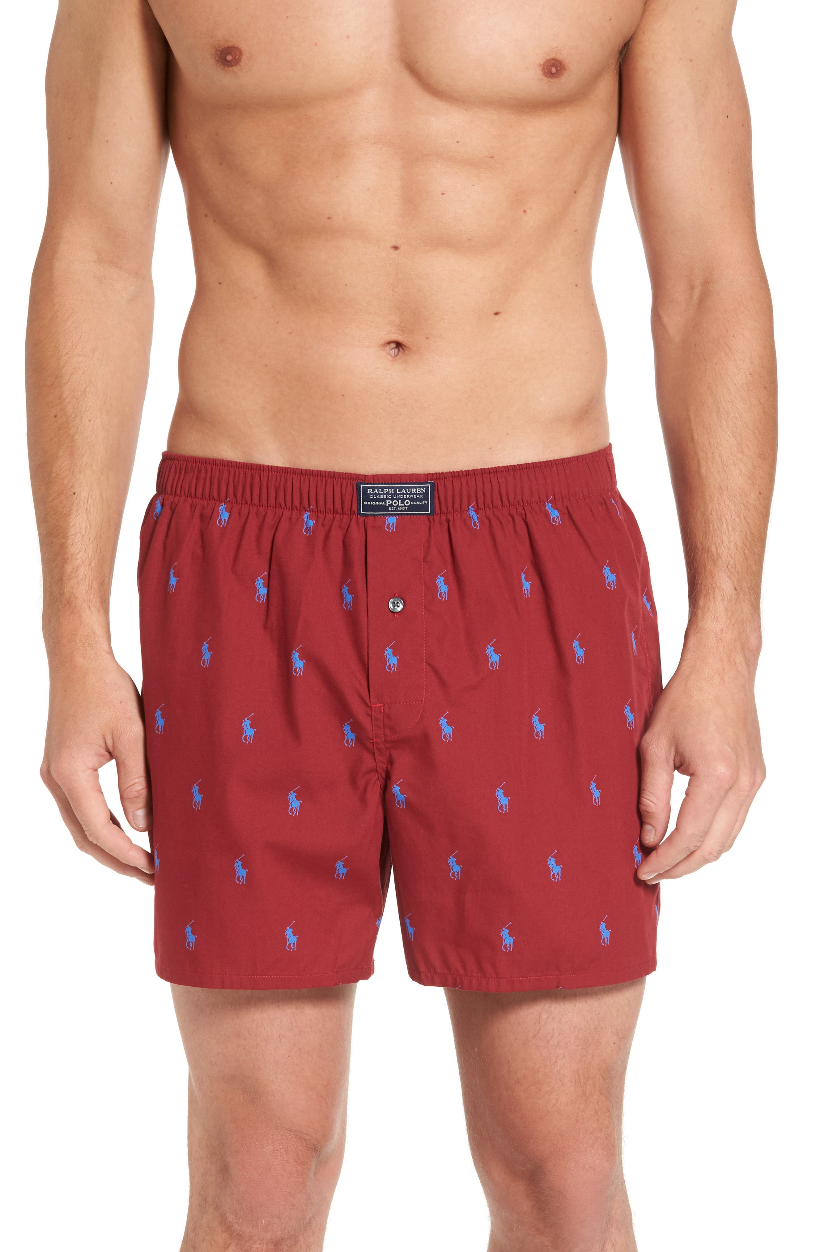 Polo Ralph Lauren Pony Cotton Boxers