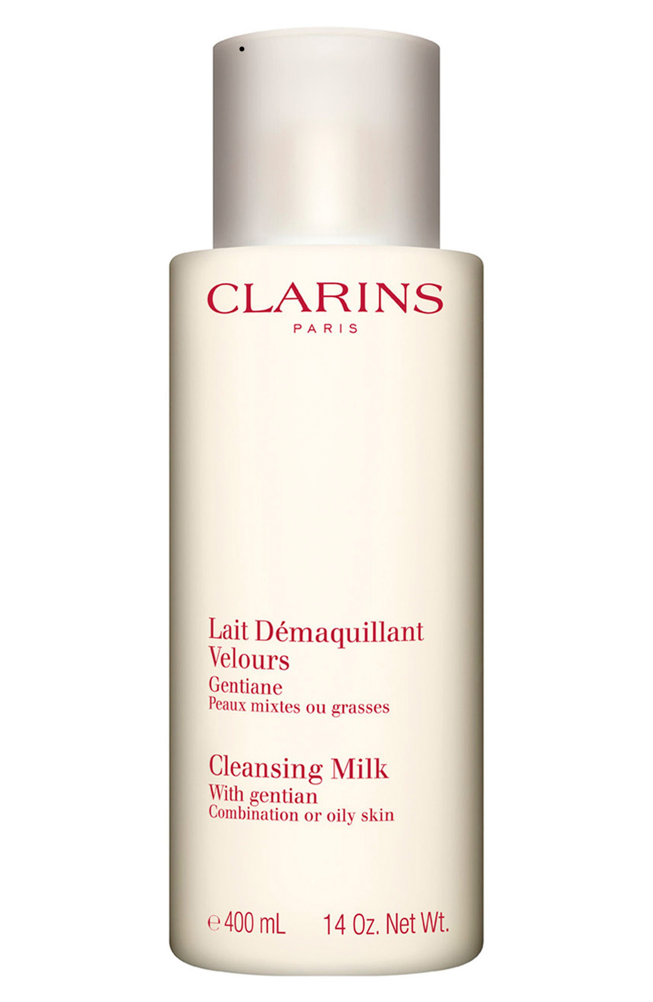 Clarins Cleansing Milk with Gentian (Jumbo Size) ($64 Value)