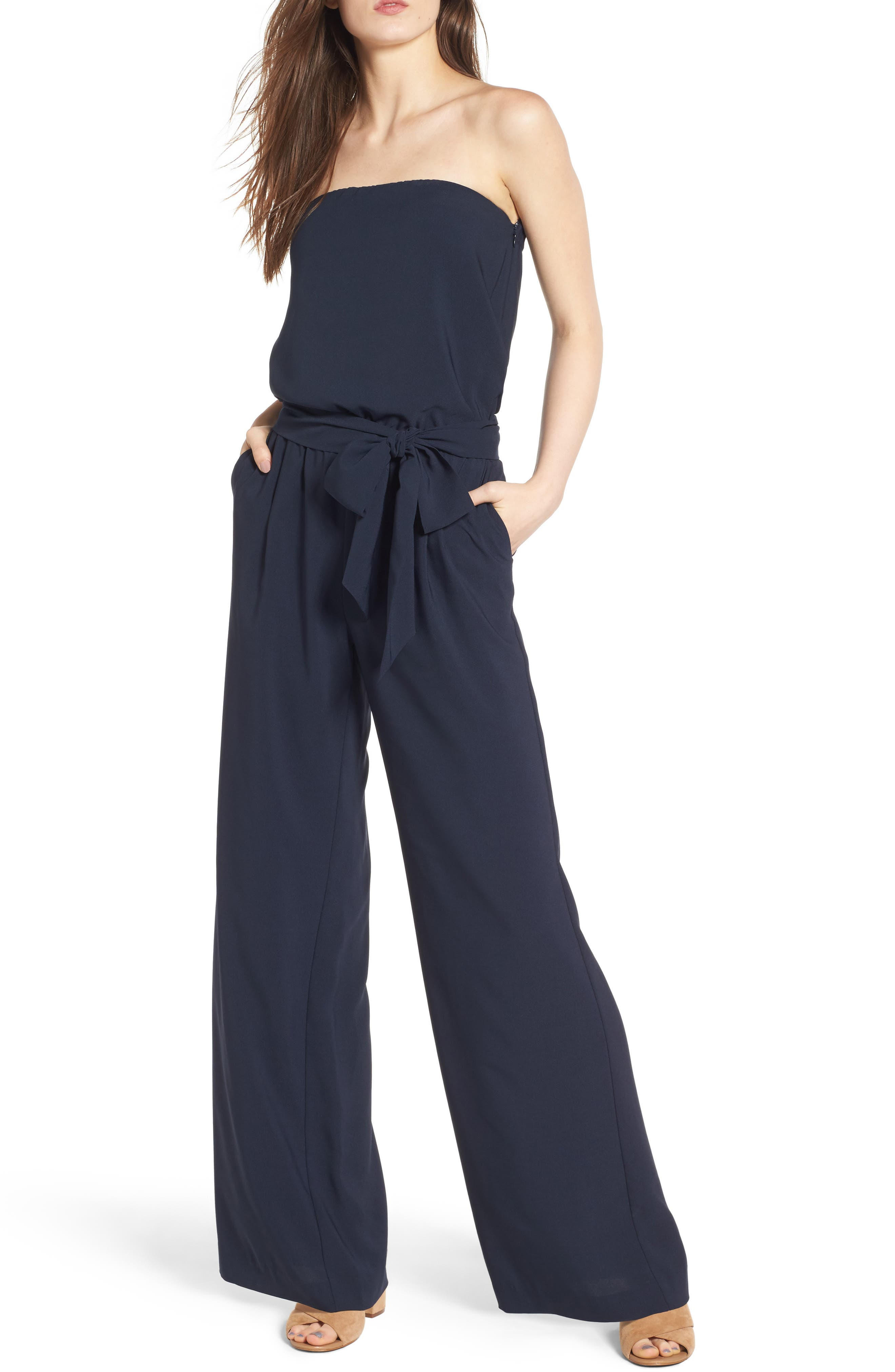 Trouvé Strapless Jumpsuit
