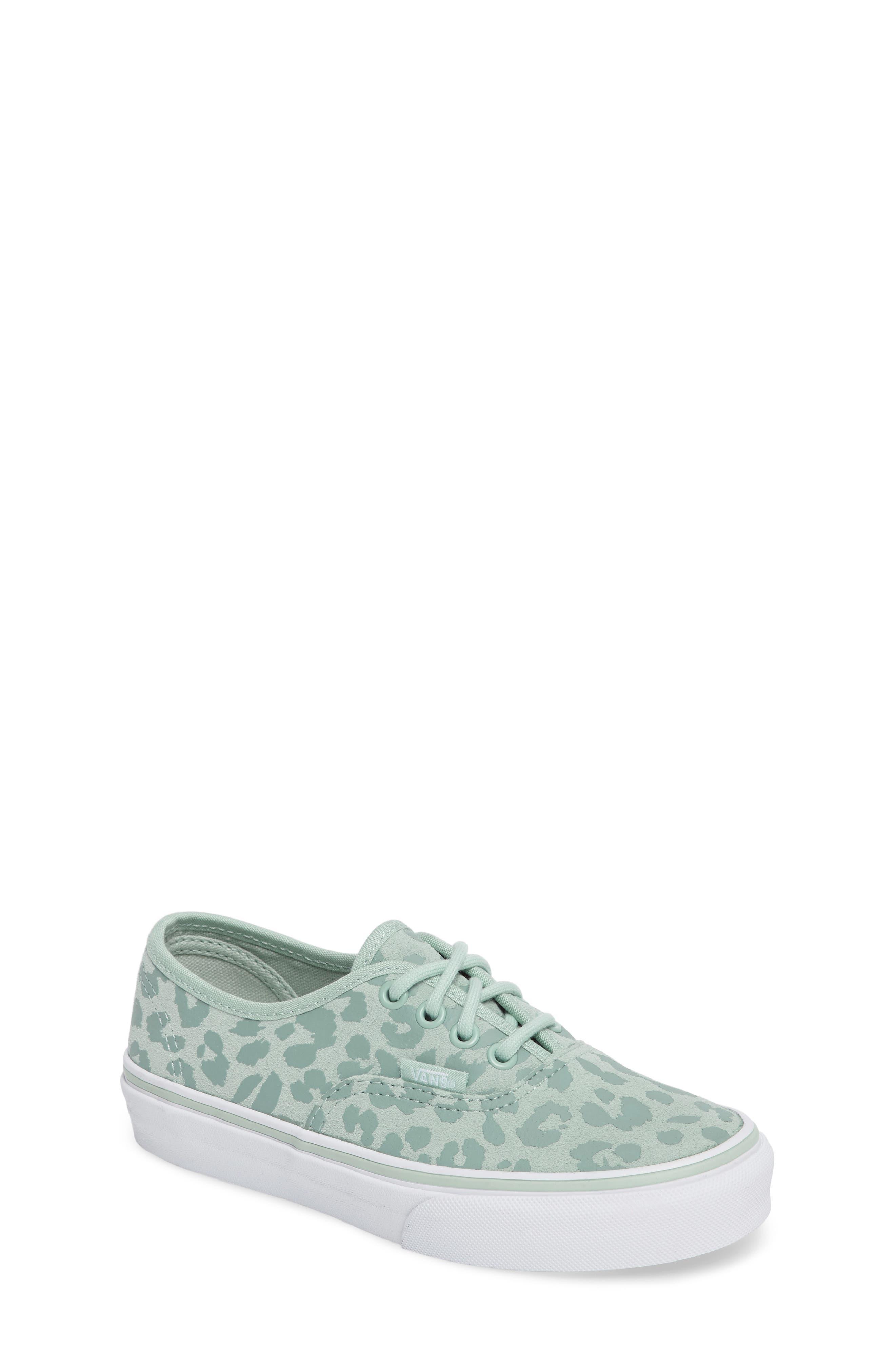 Vans Authentic Leopard Print Sneaker (Toddler, Little Kid & Big Kid)