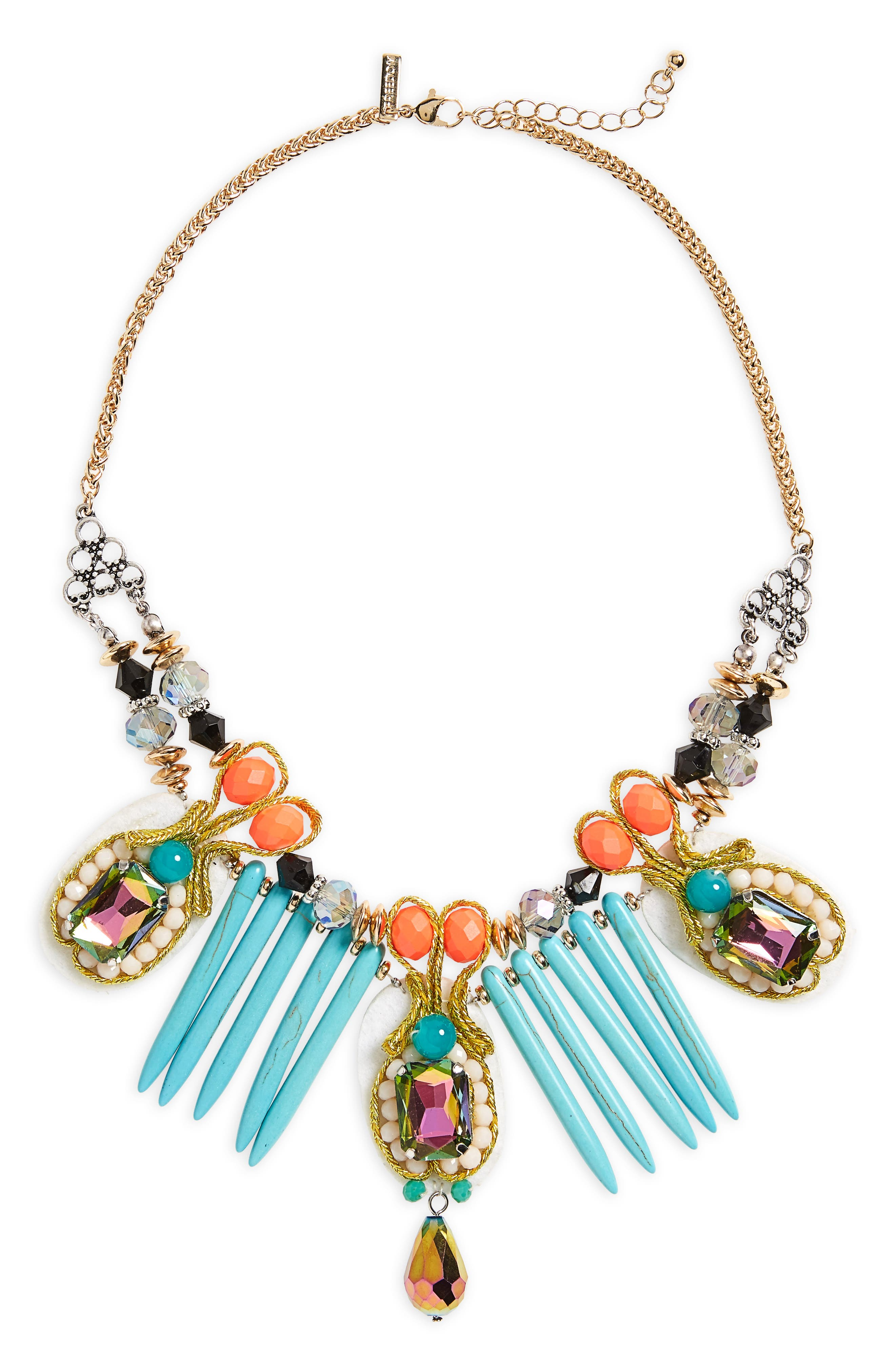 Topshop Rio Statement Collar Necklace