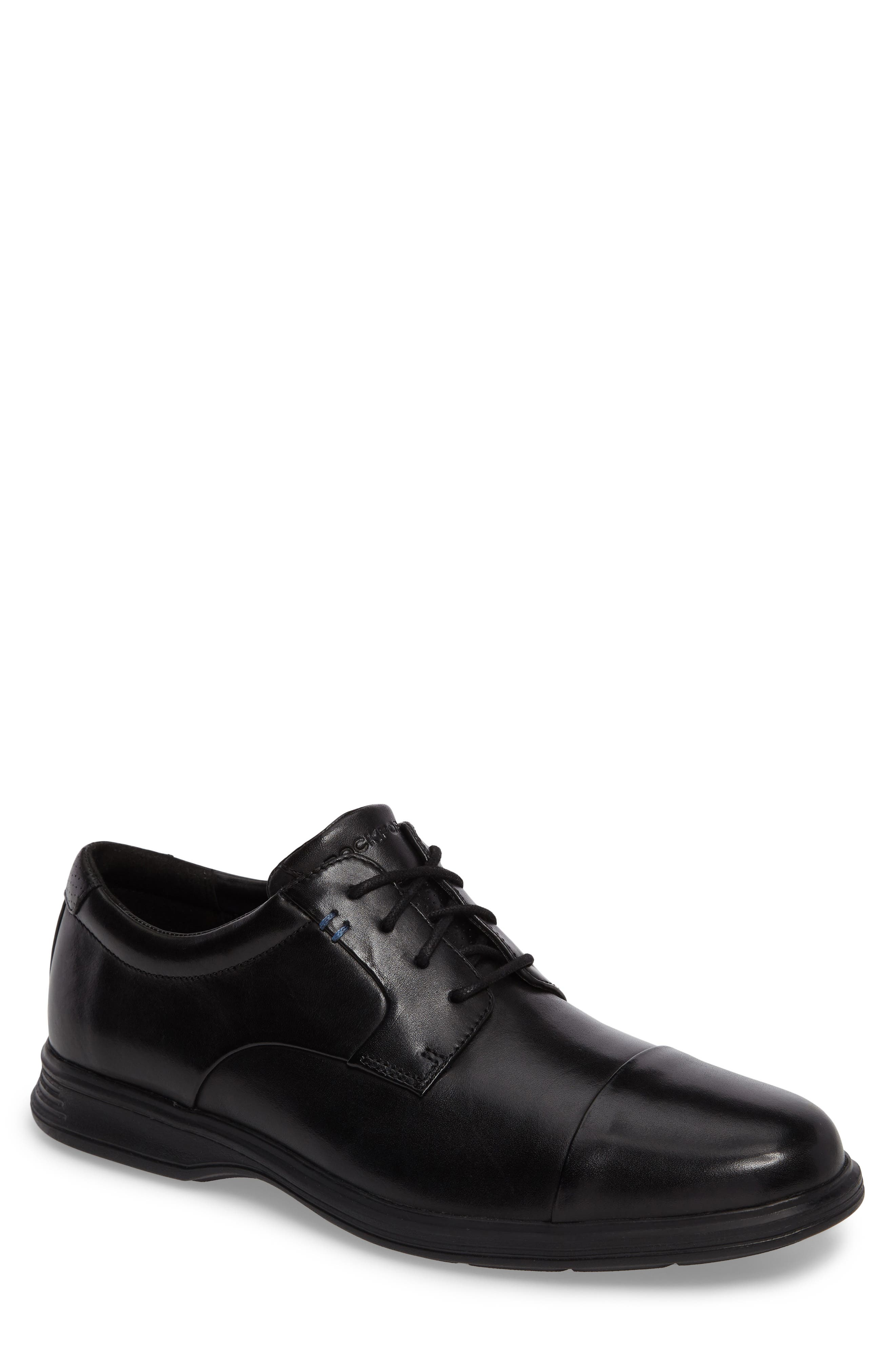 Rockport DresSports 2 Lite Cap Toe Derby (Men)