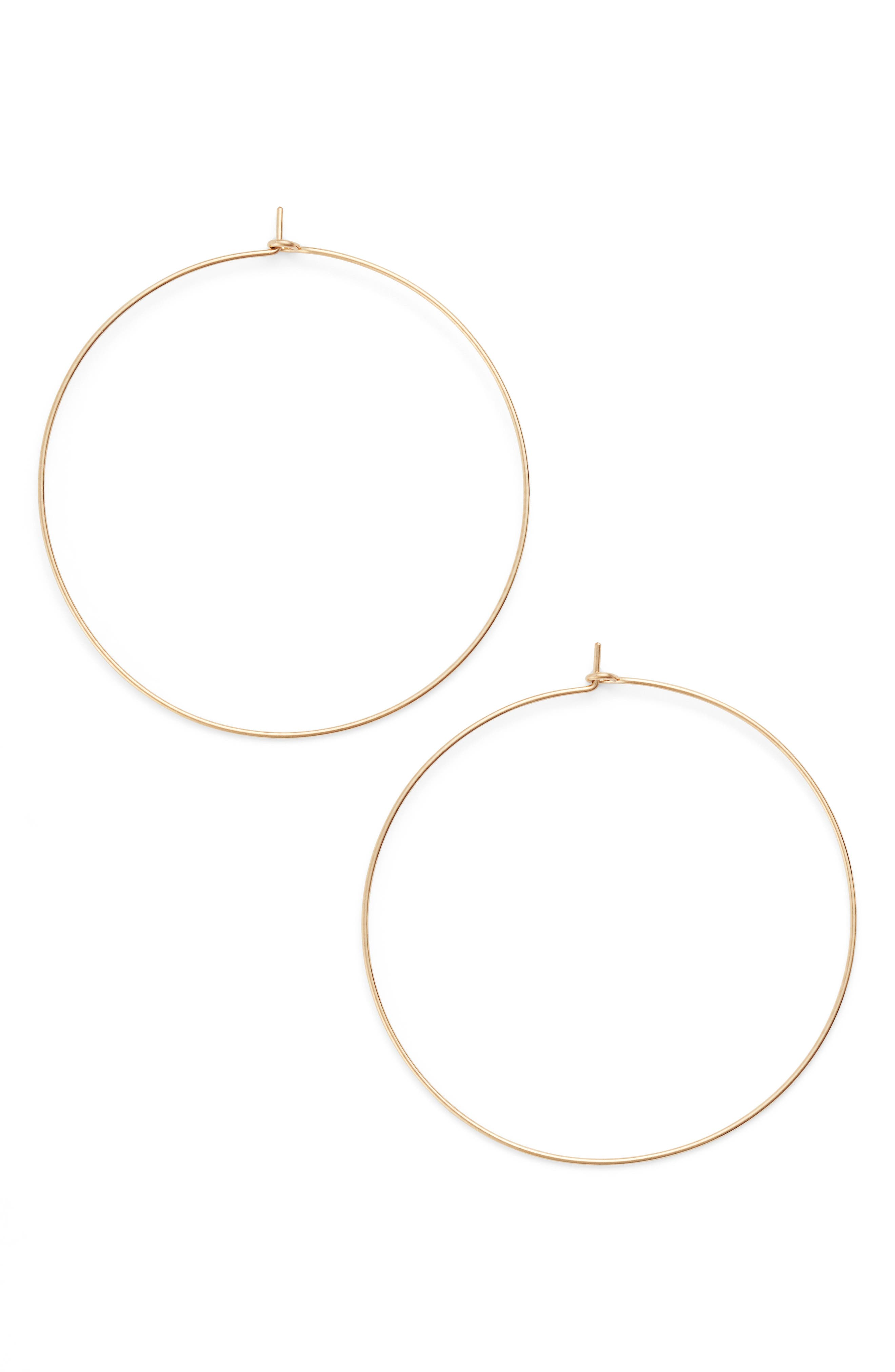 Nashelle Extra Large Hoop Earrings
