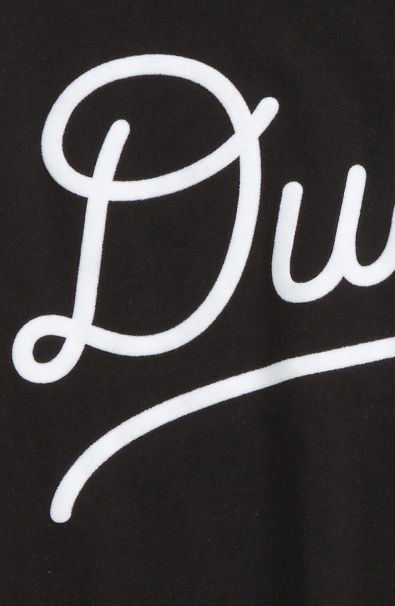 Alternate Image 2  - Peek Dude Appliqué T-Shirt (Toddler Boys, Little Boys & Big Boys)