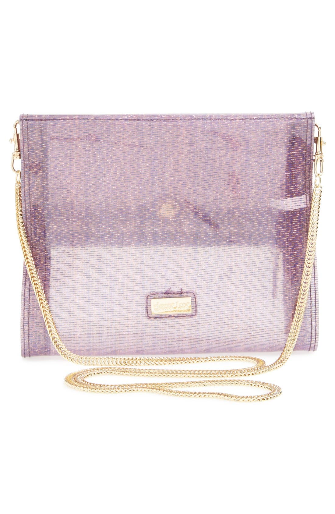 Alternate Image 3  - Deux Lux 'Pasha' Crystal Embellished Convertible Foldover Clutch