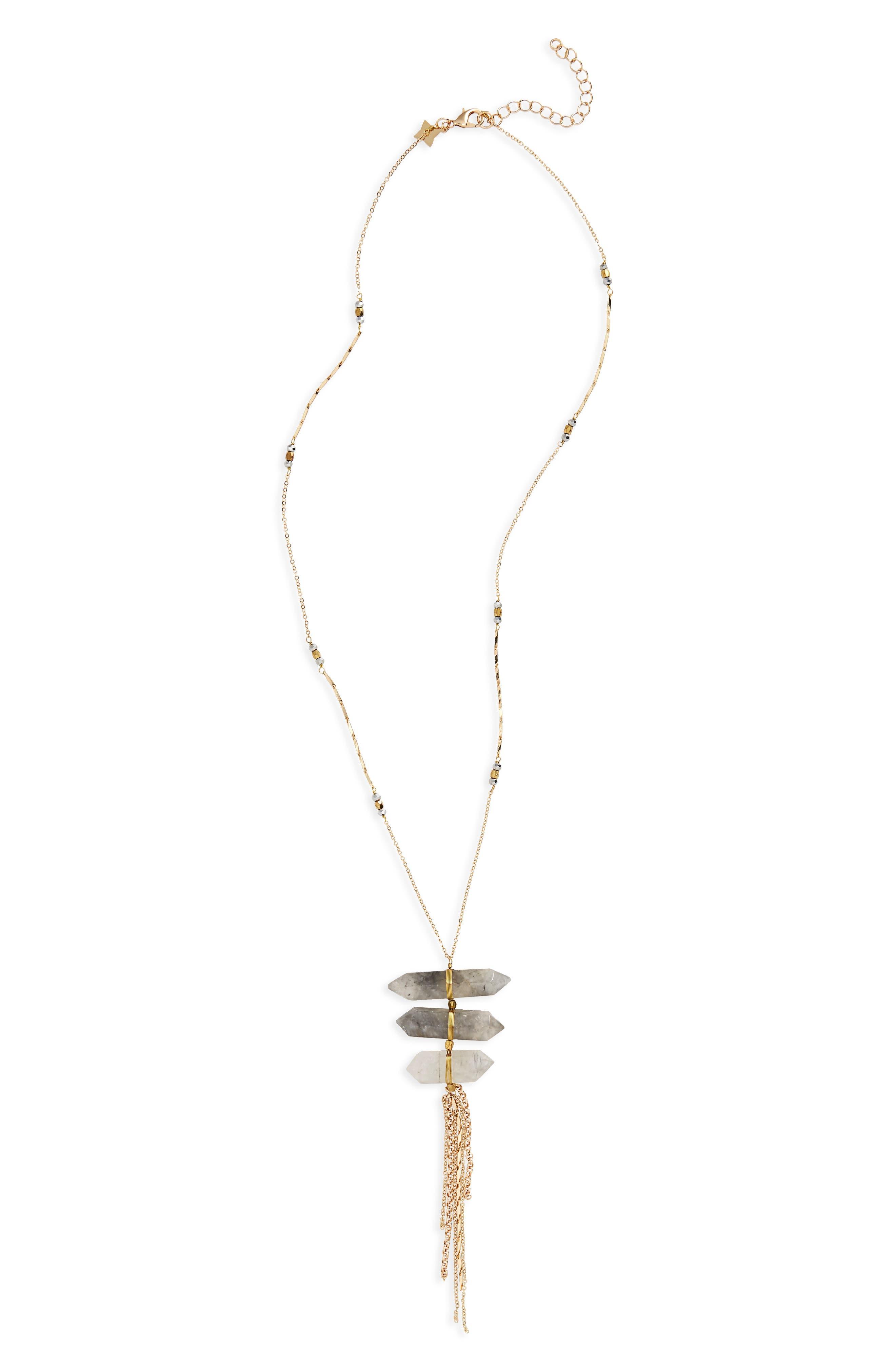 Panacea Tassel Necklace