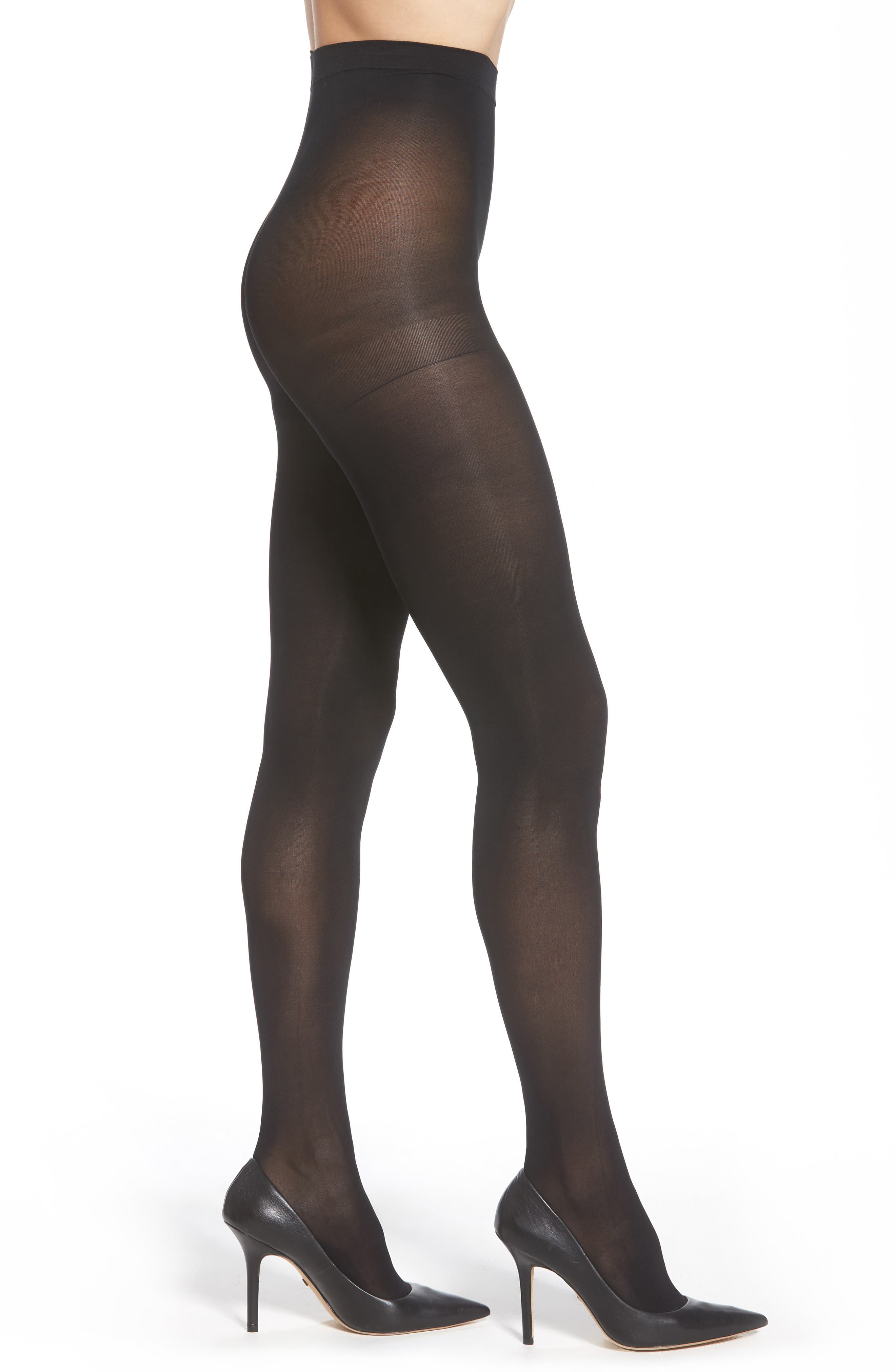 Nordstrom Opaque Control Top Tights