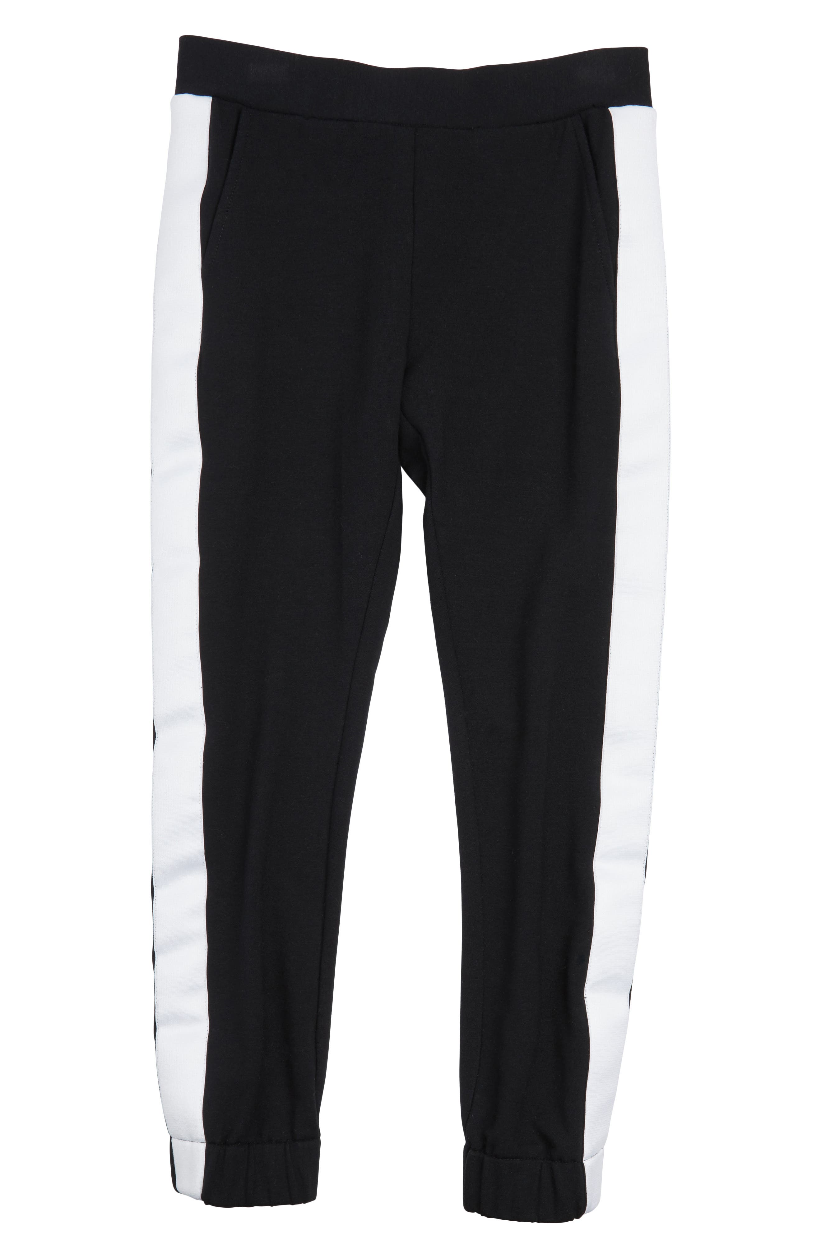 Maddie Side Stripe Jogger Pants (Big Girls)