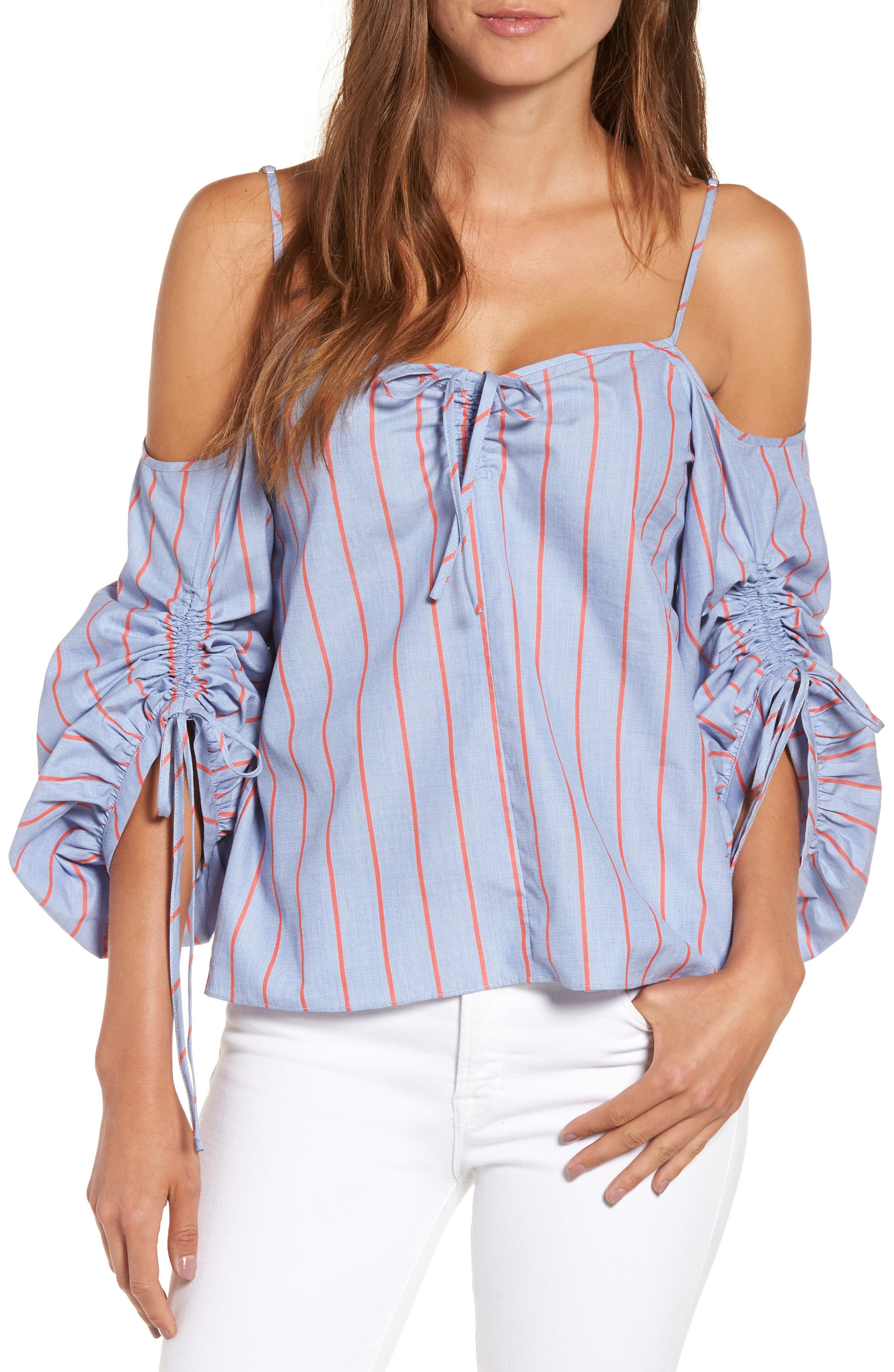 Parker Marden Cold Shoulder Blouse