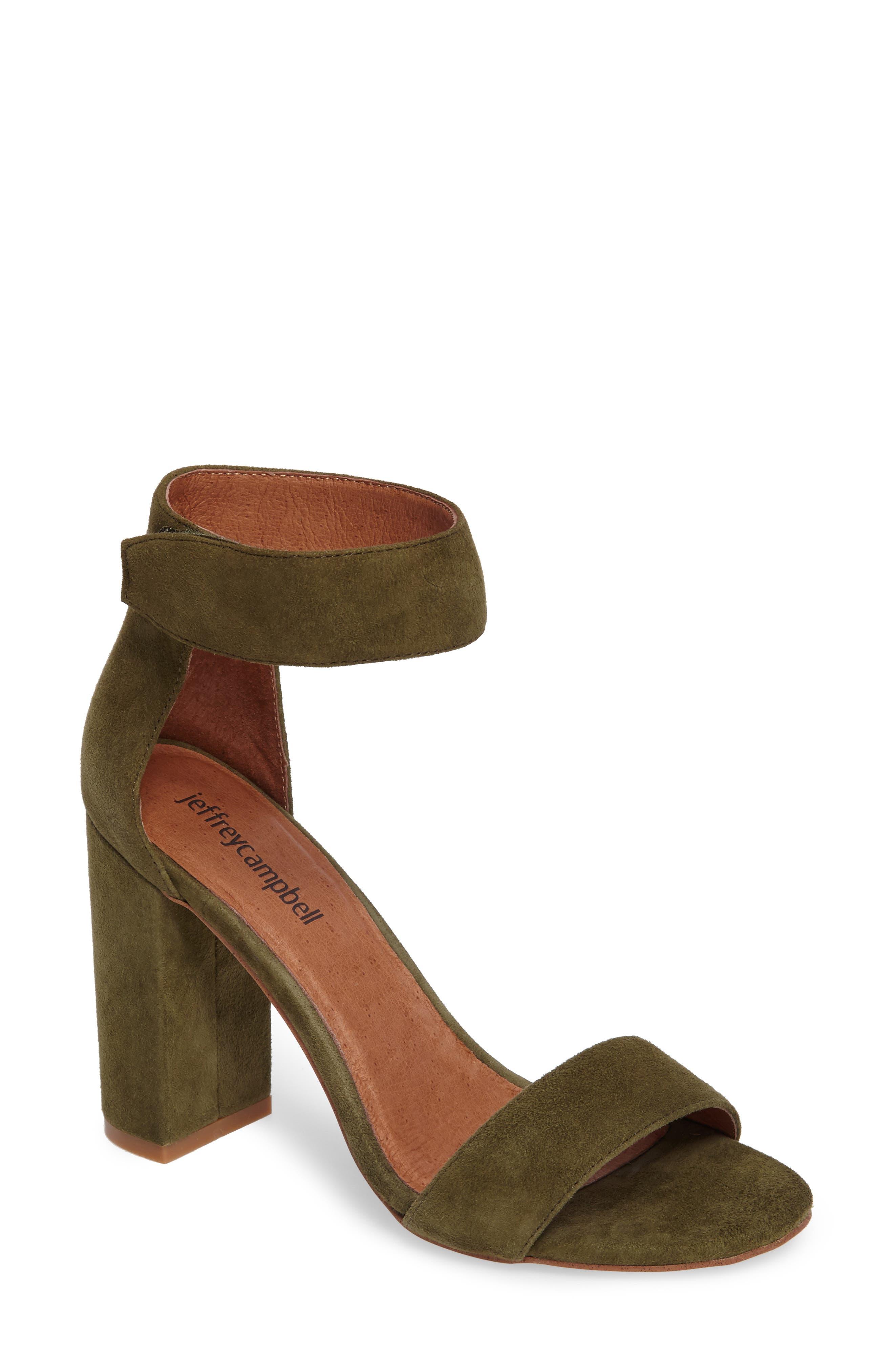 Main Image - Jeffrey Campbell 'Lindsay' Ankle Strap Sandal (Women)