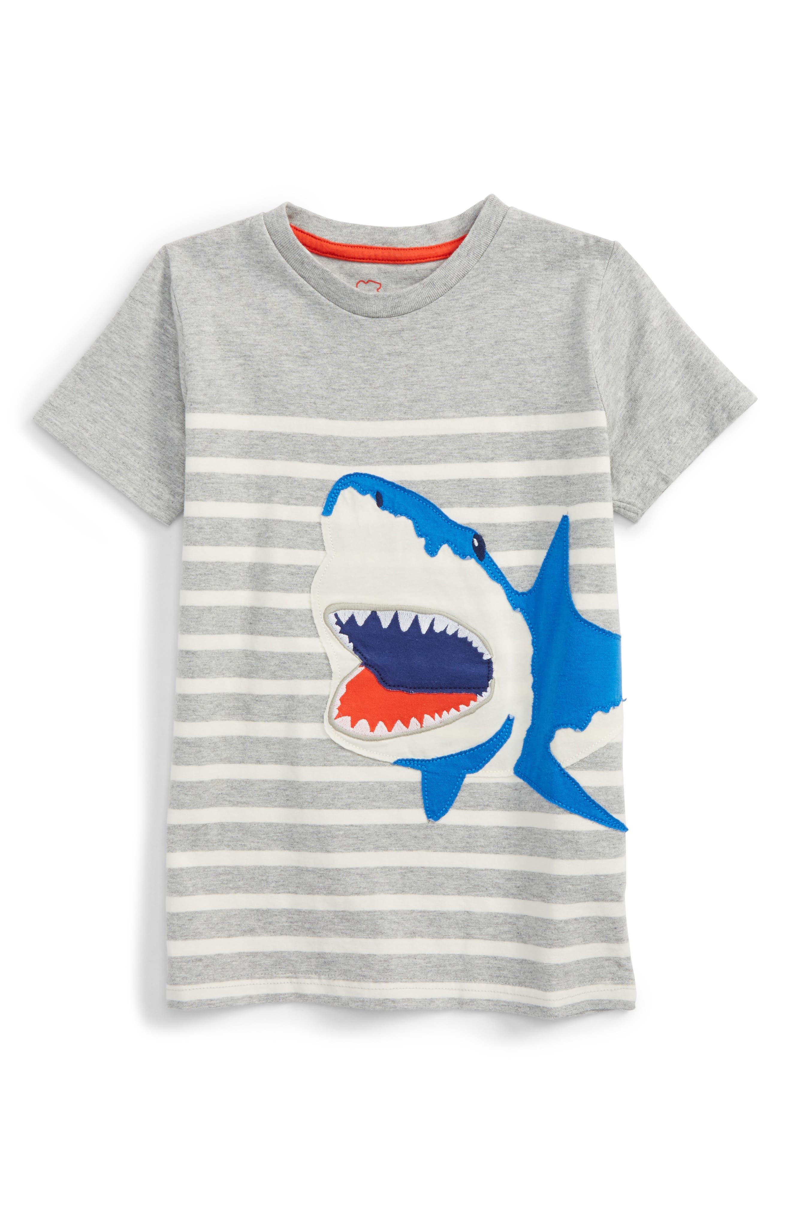 Mini Boden Animal Stripe T-Shirt (Toddler Boys, Little Boys & Big Boys)