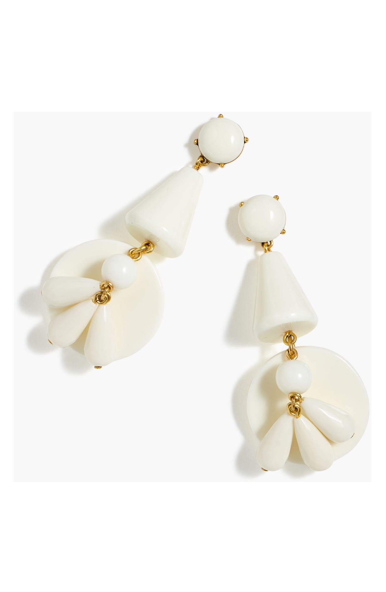 J.Crew Windbell Drop Earrings