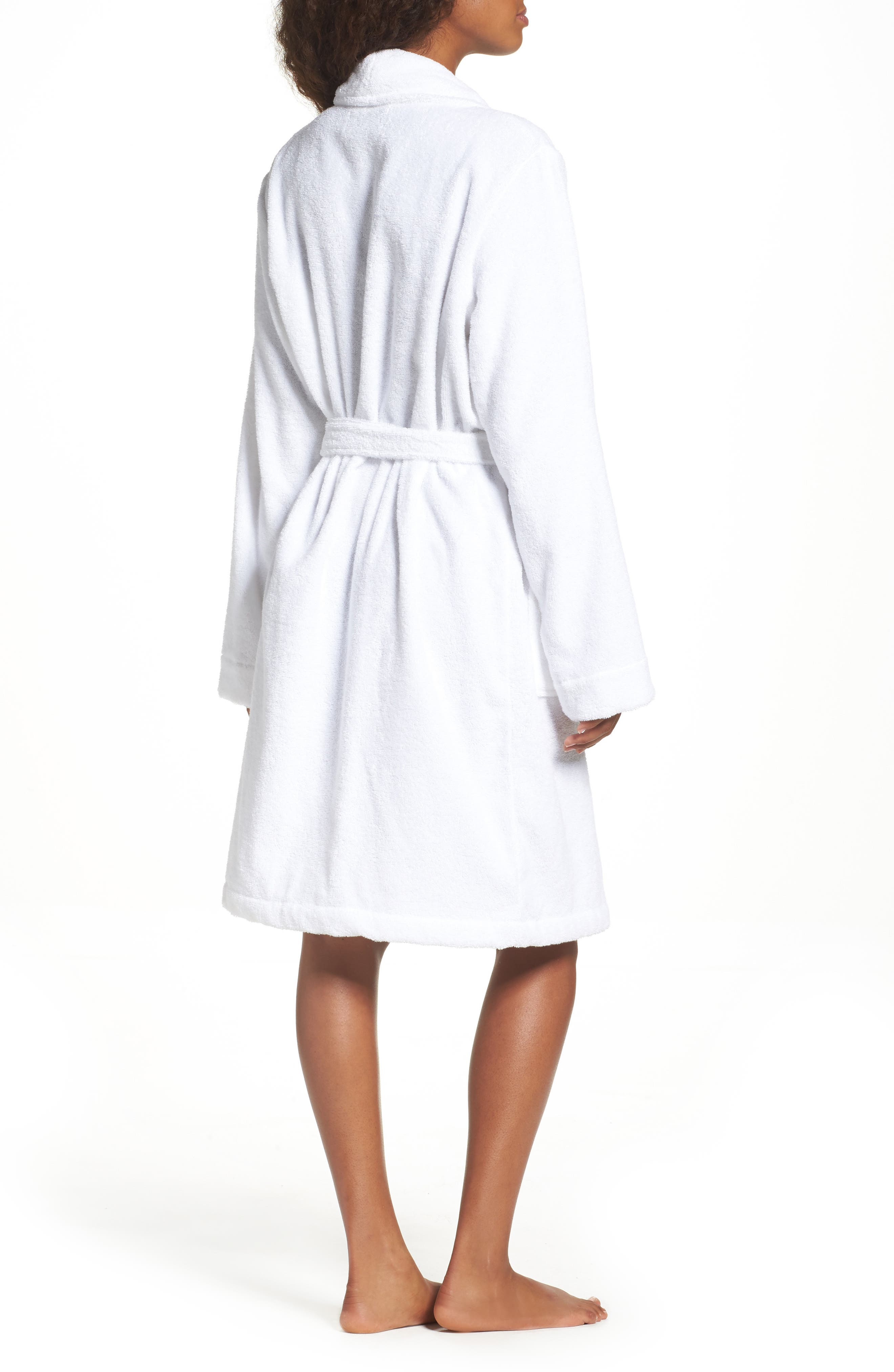 Alternate Image 2  - Nordstrom Lingerie Terry Robe