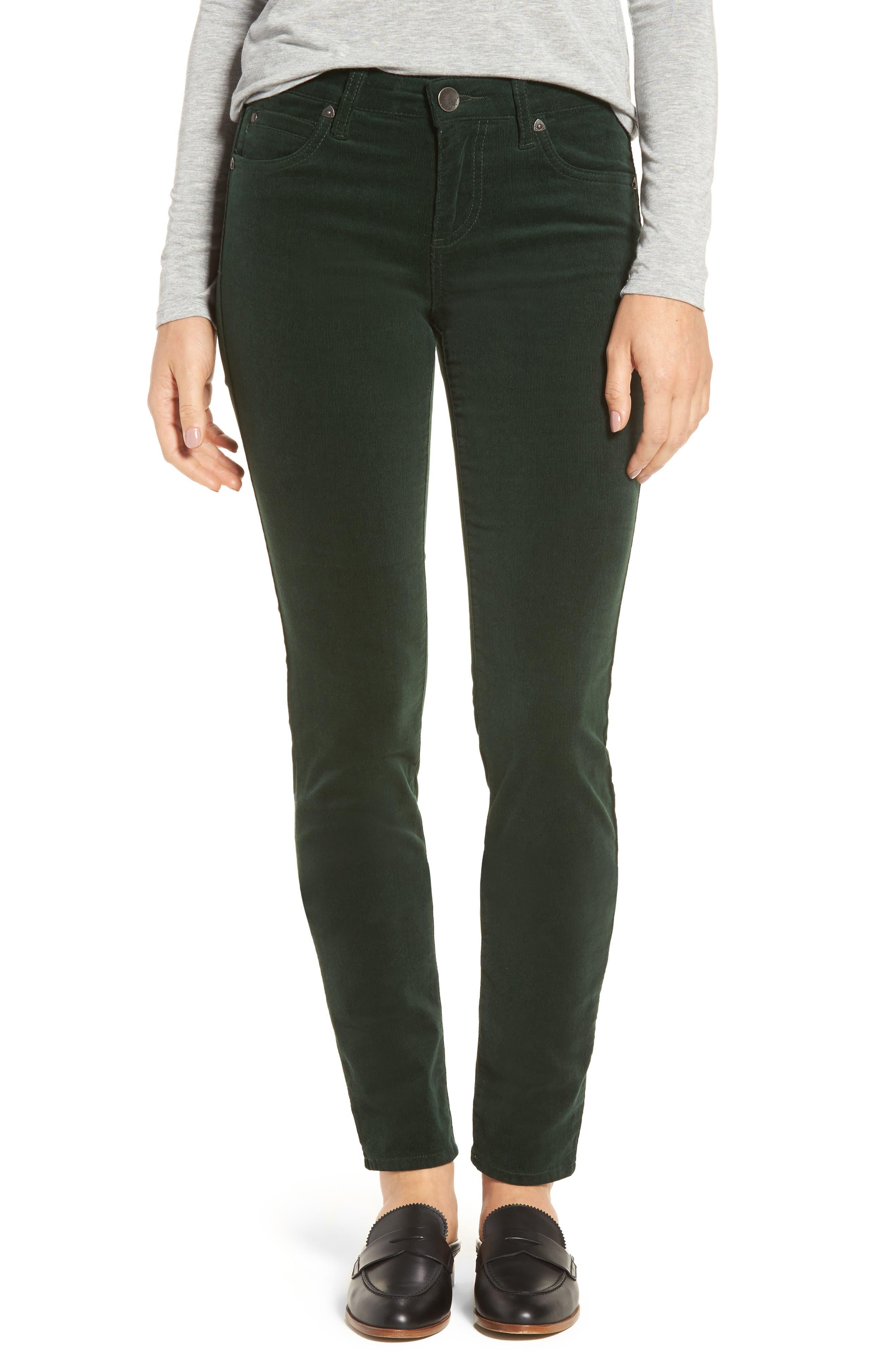 Main Image - KUT from the Kloth Diana Stretch Corduroy Skinny Pants (Regular & Petite)