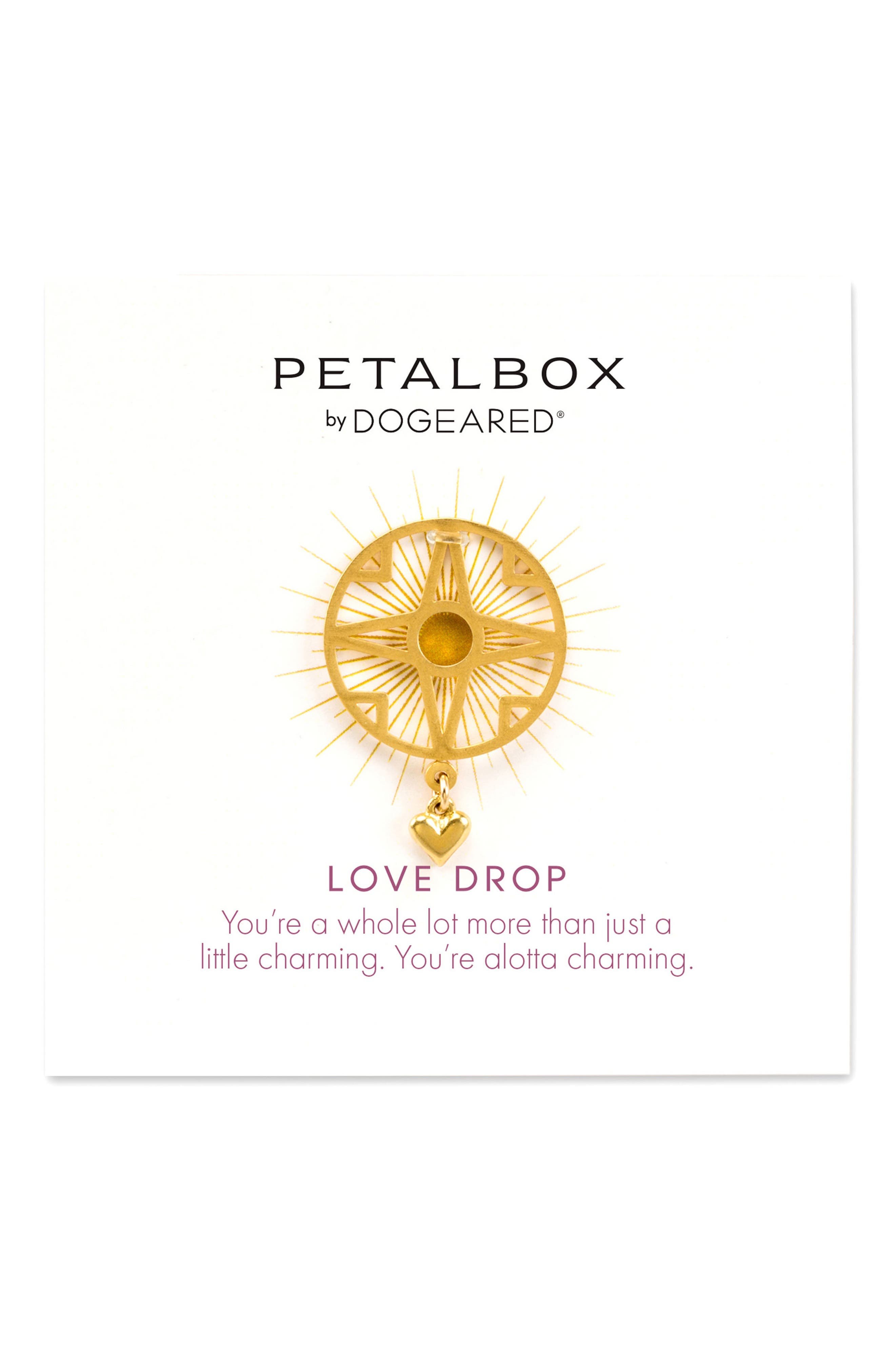 Dogeared Petalbox Love Drop Enhancer (Nordstrom Exclusive)