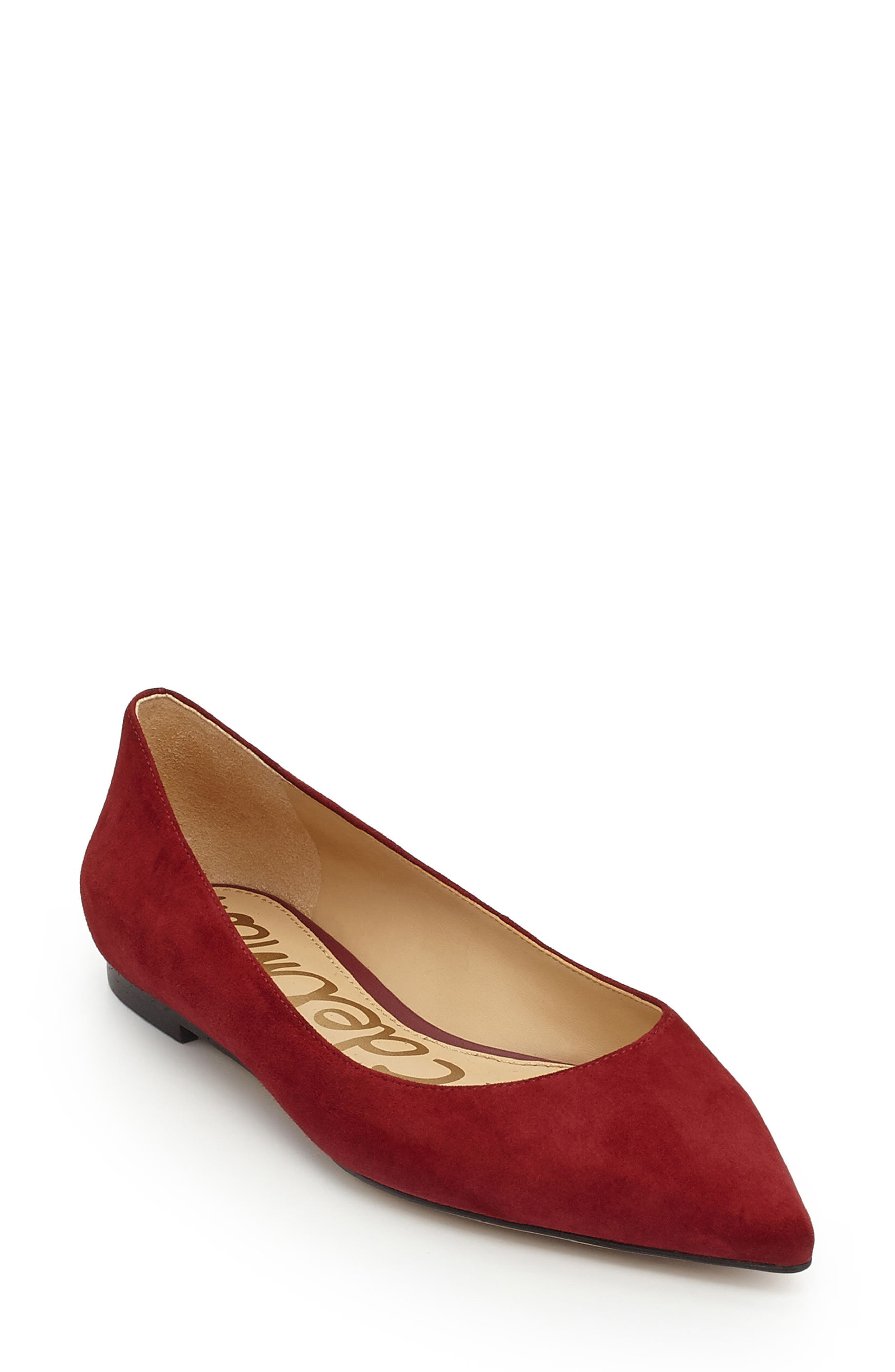 Sam Edelman Rae Pointy Toe Flat (Women)