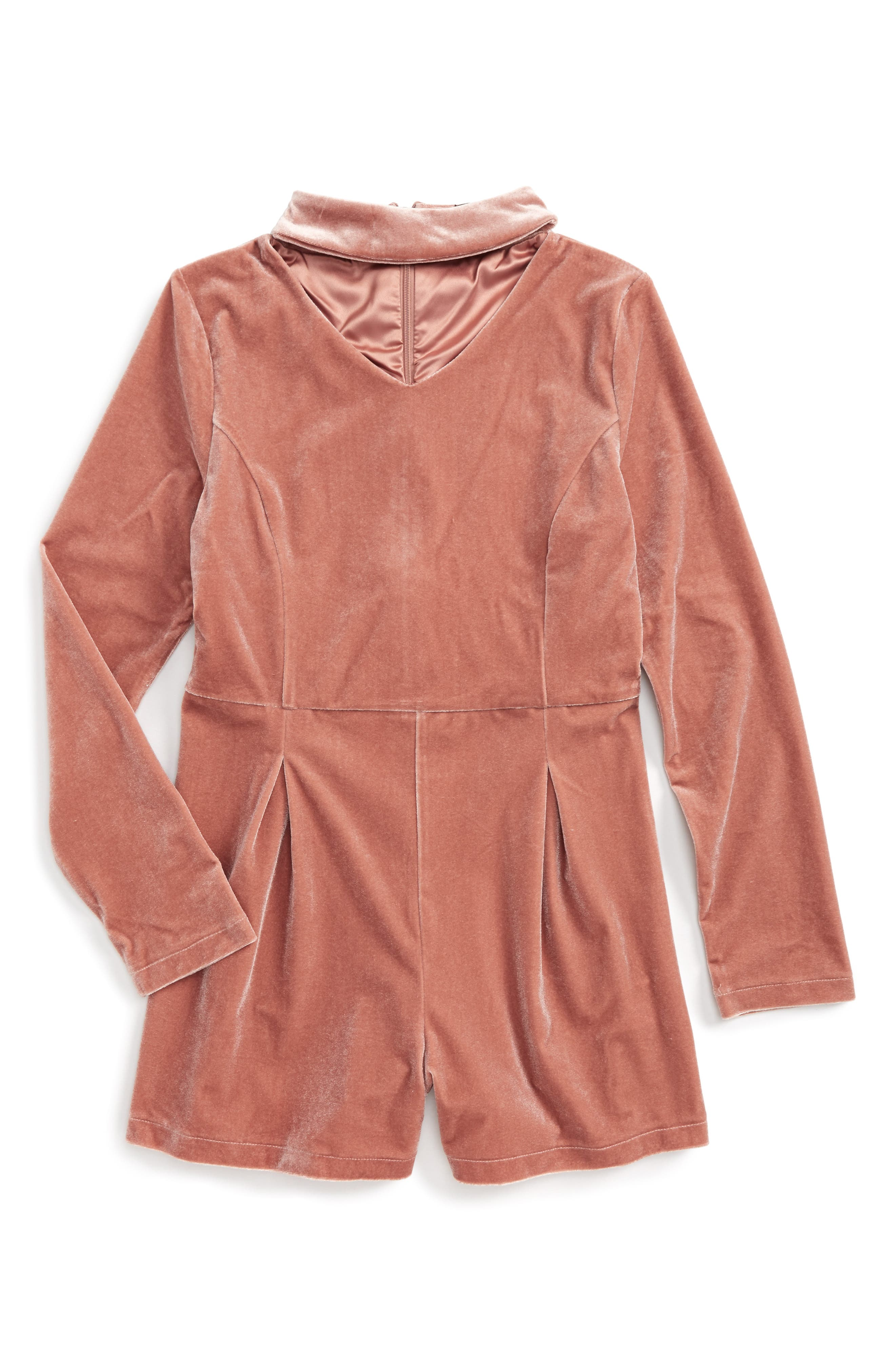 Bardot Junior Gemma Velvet Romper (Big Girls)