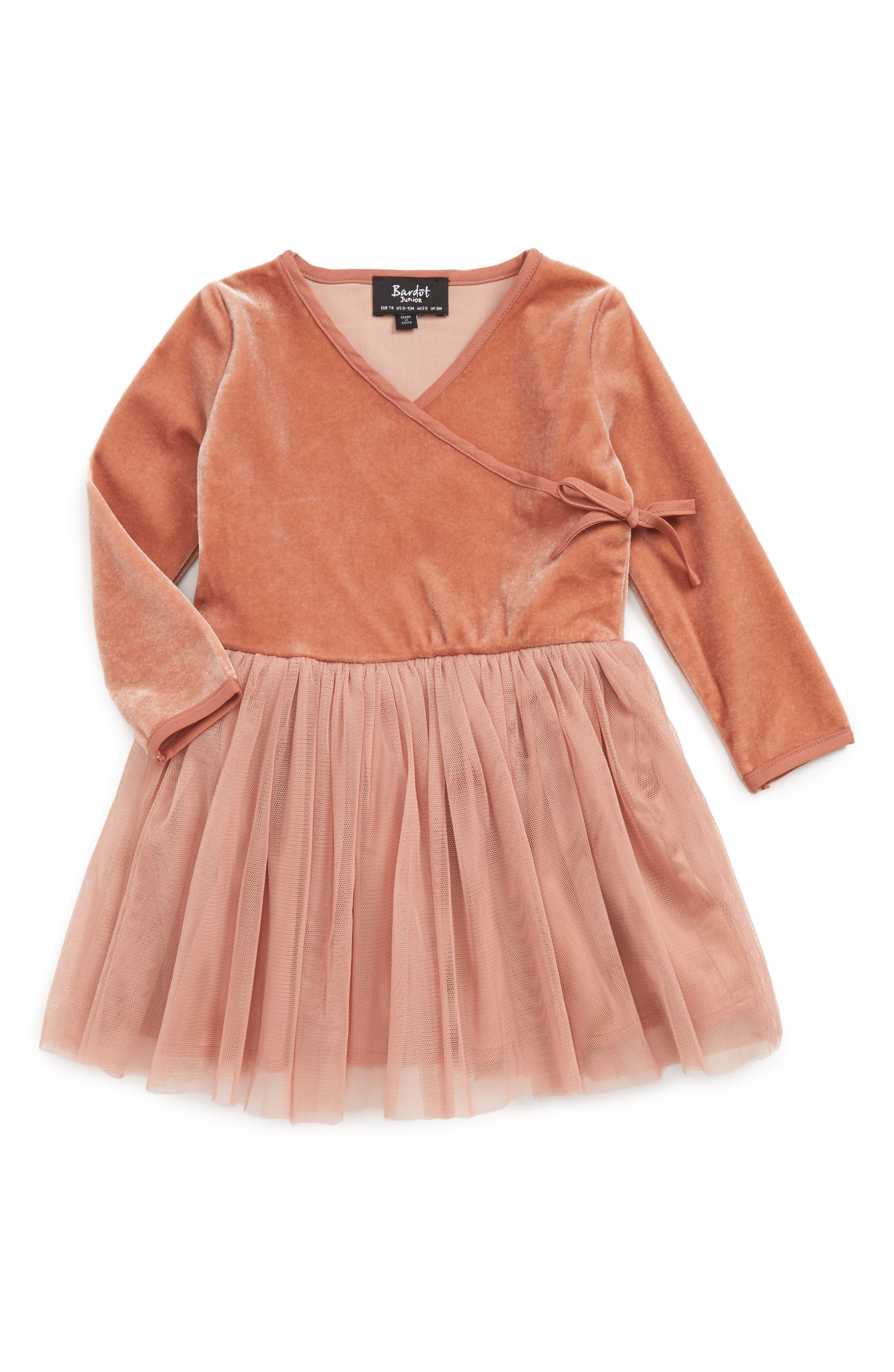 Bardot Junior Wrap Dress (Baby Girls & Toddler Girls)