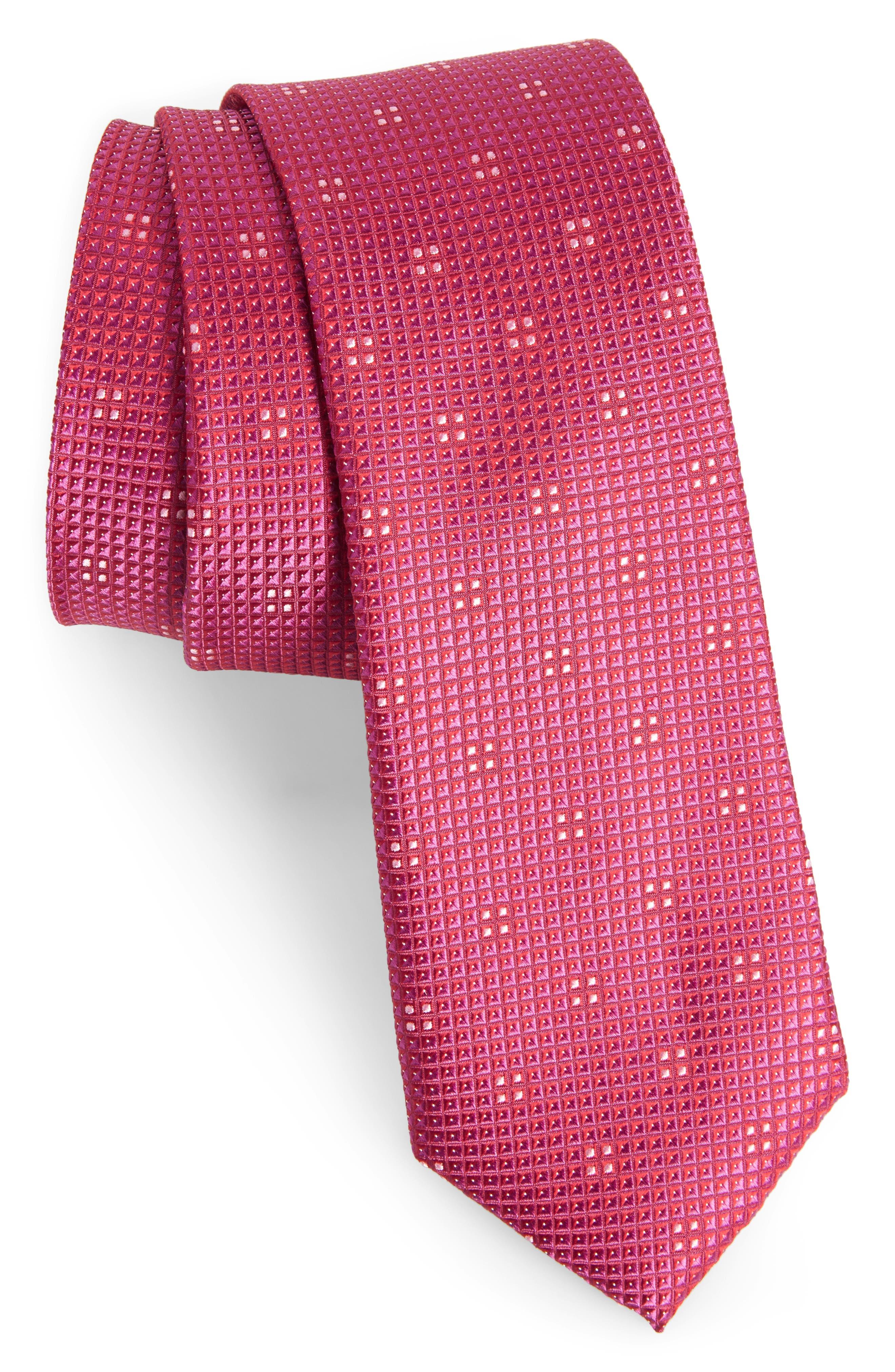 Calibrate Classic Neat Silk Tie