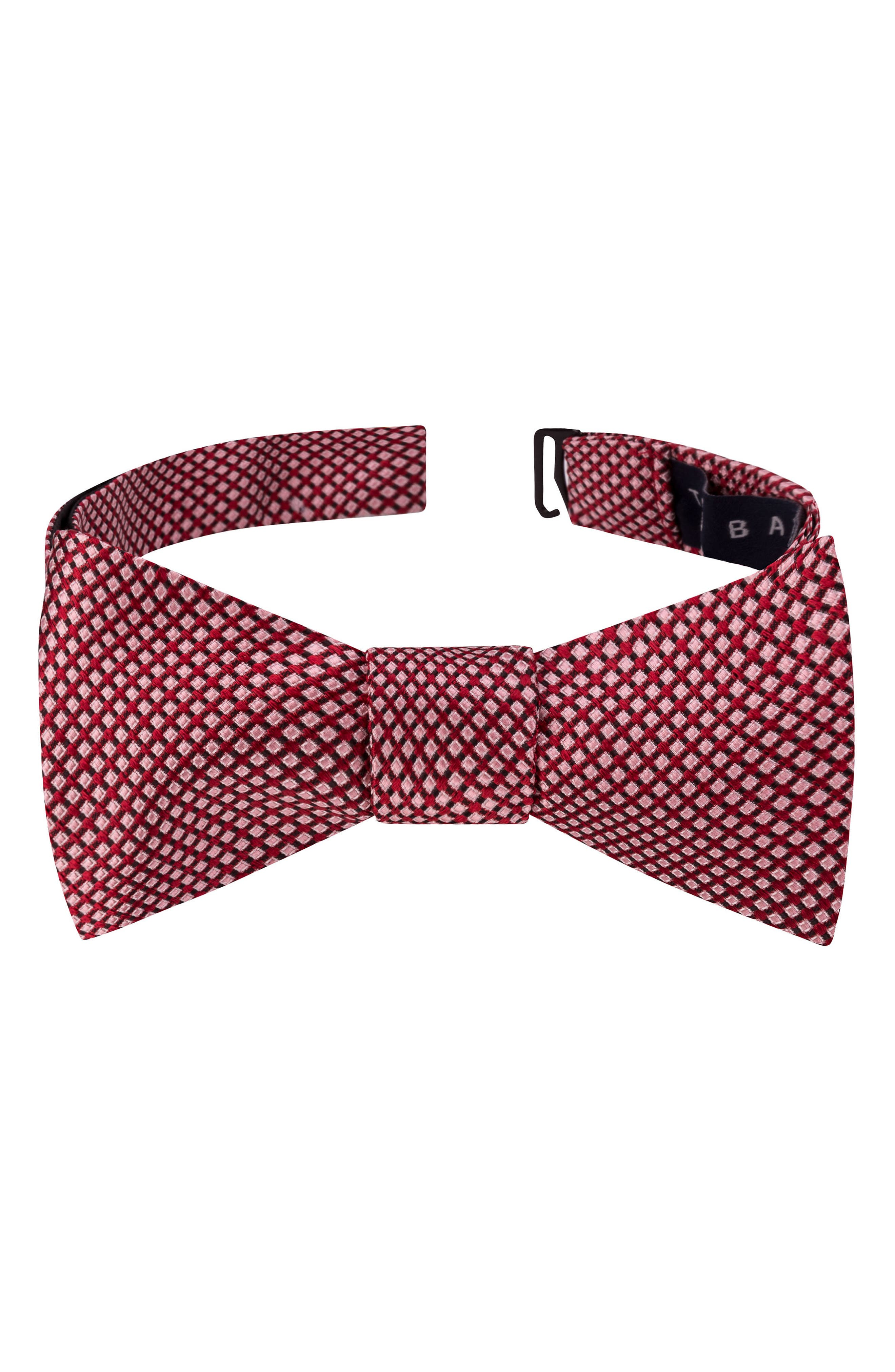 Ted Baker London Ravishing Check Silk Bow Tie