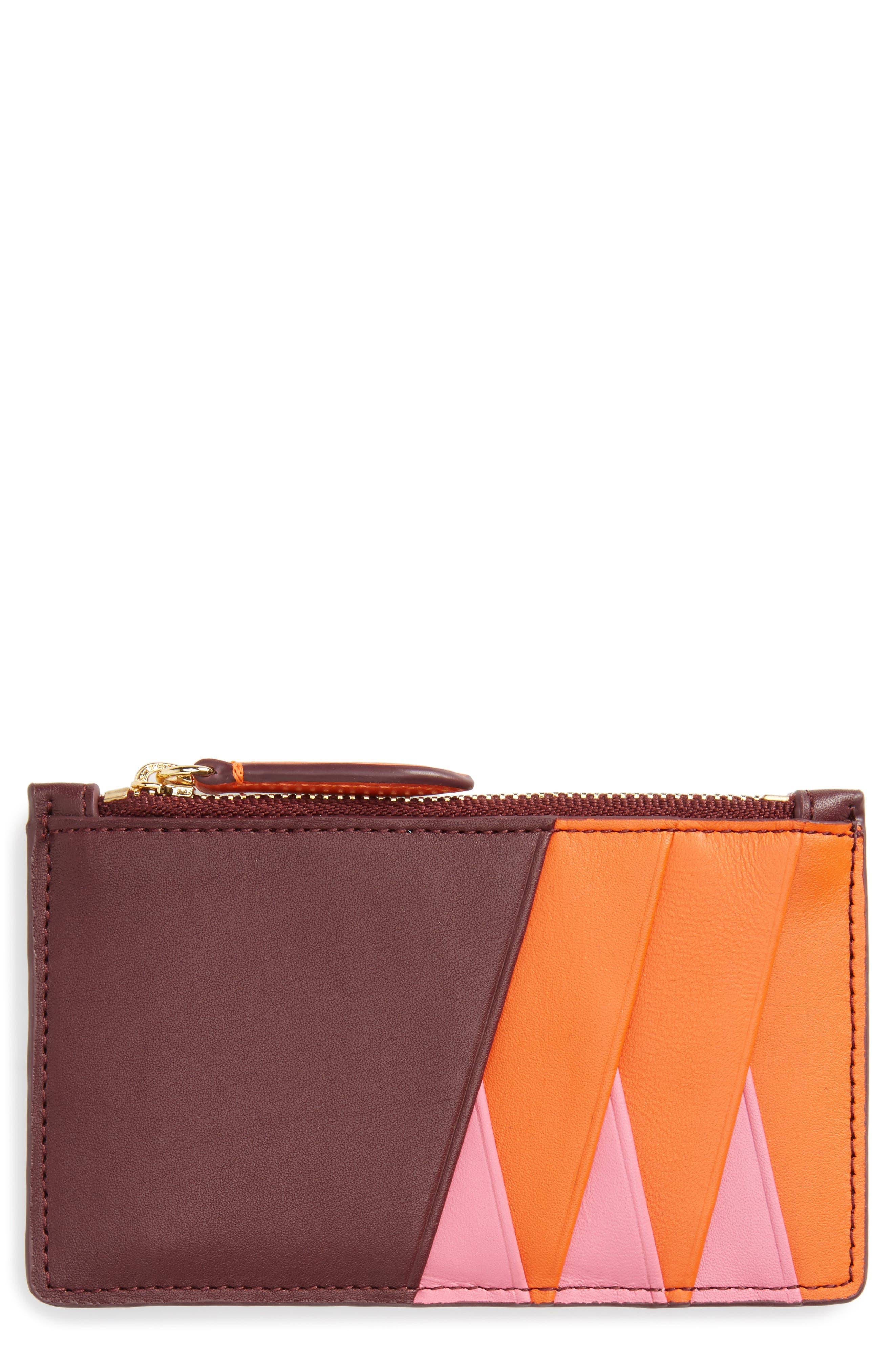 Diane von Furstenberg Leather Card Case