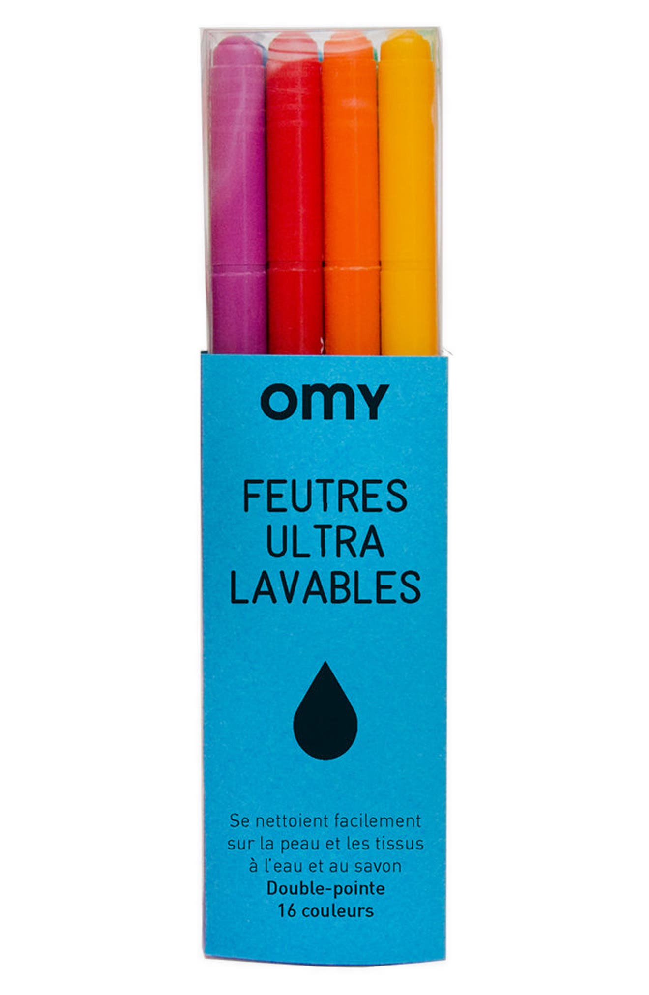 OMY 16-Piece Washable Color Marker Set