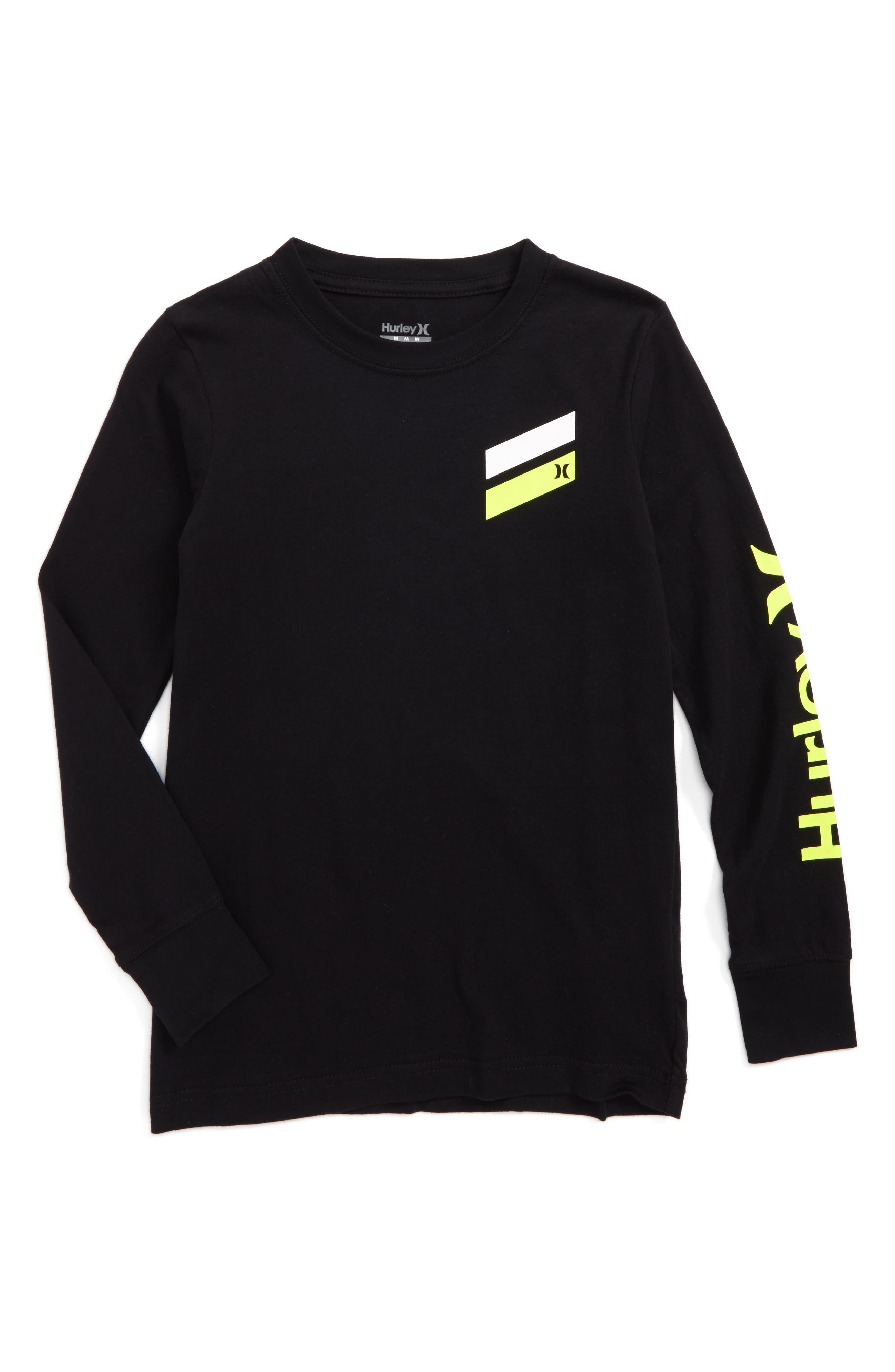 Hurley Icon Slash Logo T-Shirt (Big Boys)