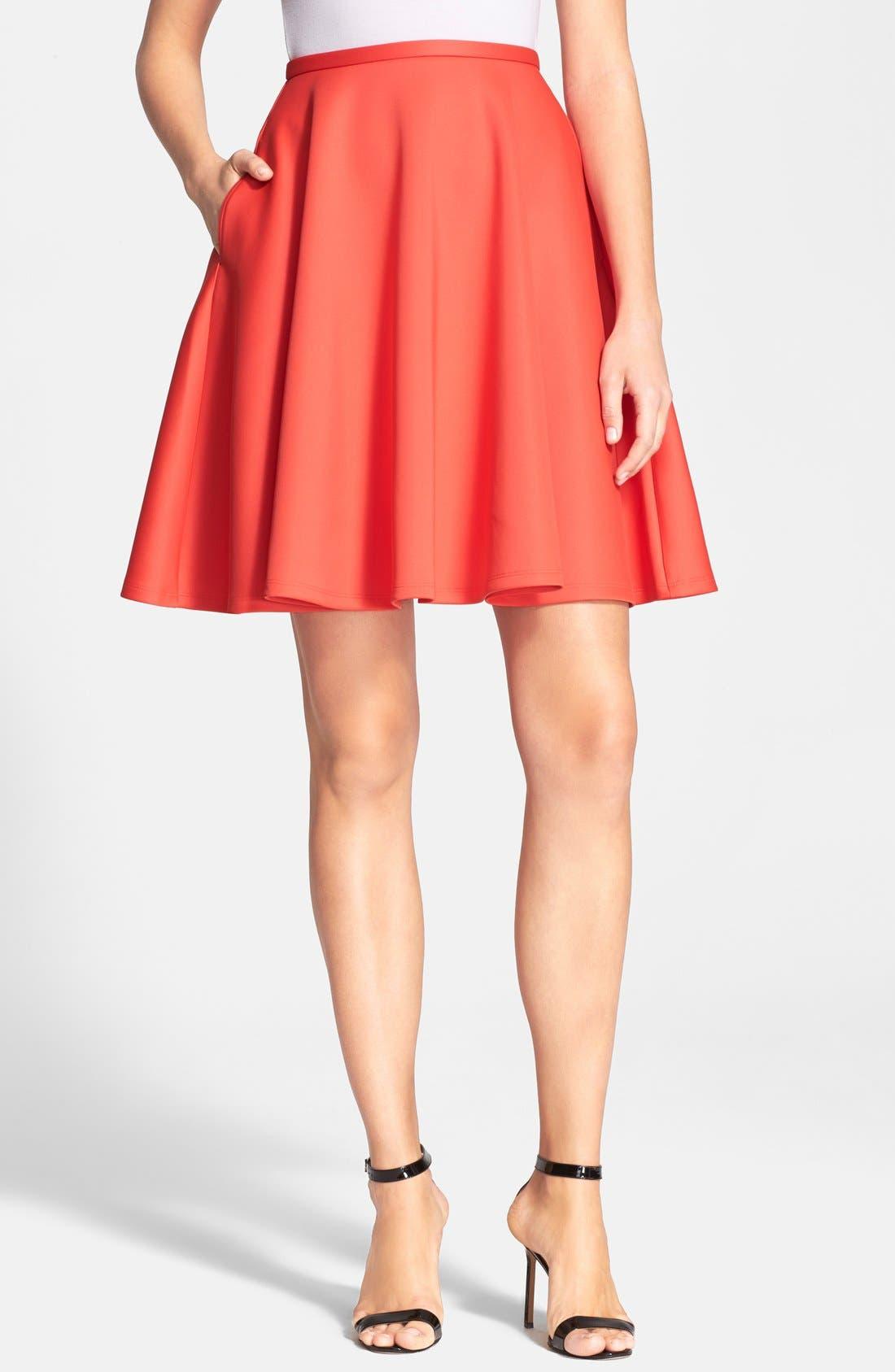 Alternate Image 1 Selected - Ted Baker London 'Miloca' Skater Skirt