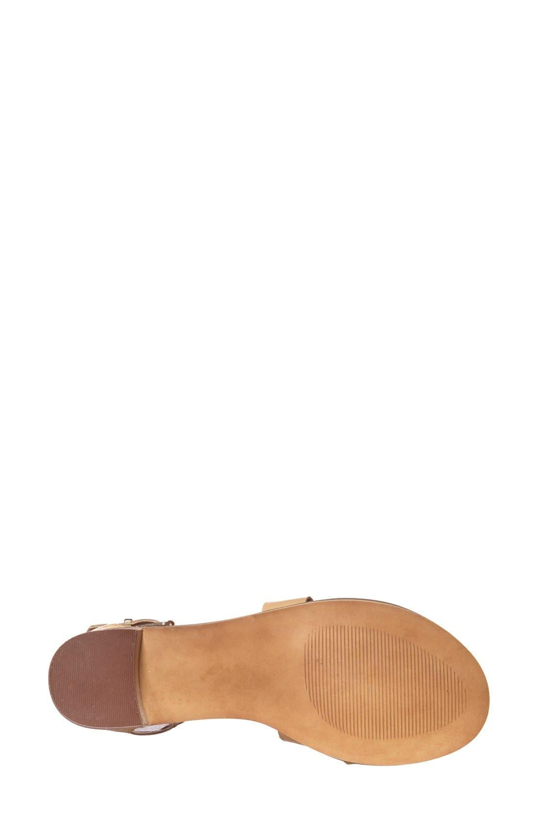 Alternate Image 5  - Steve Madden 'Rosana' Double Ankle Strap Leather Sandal (Women)